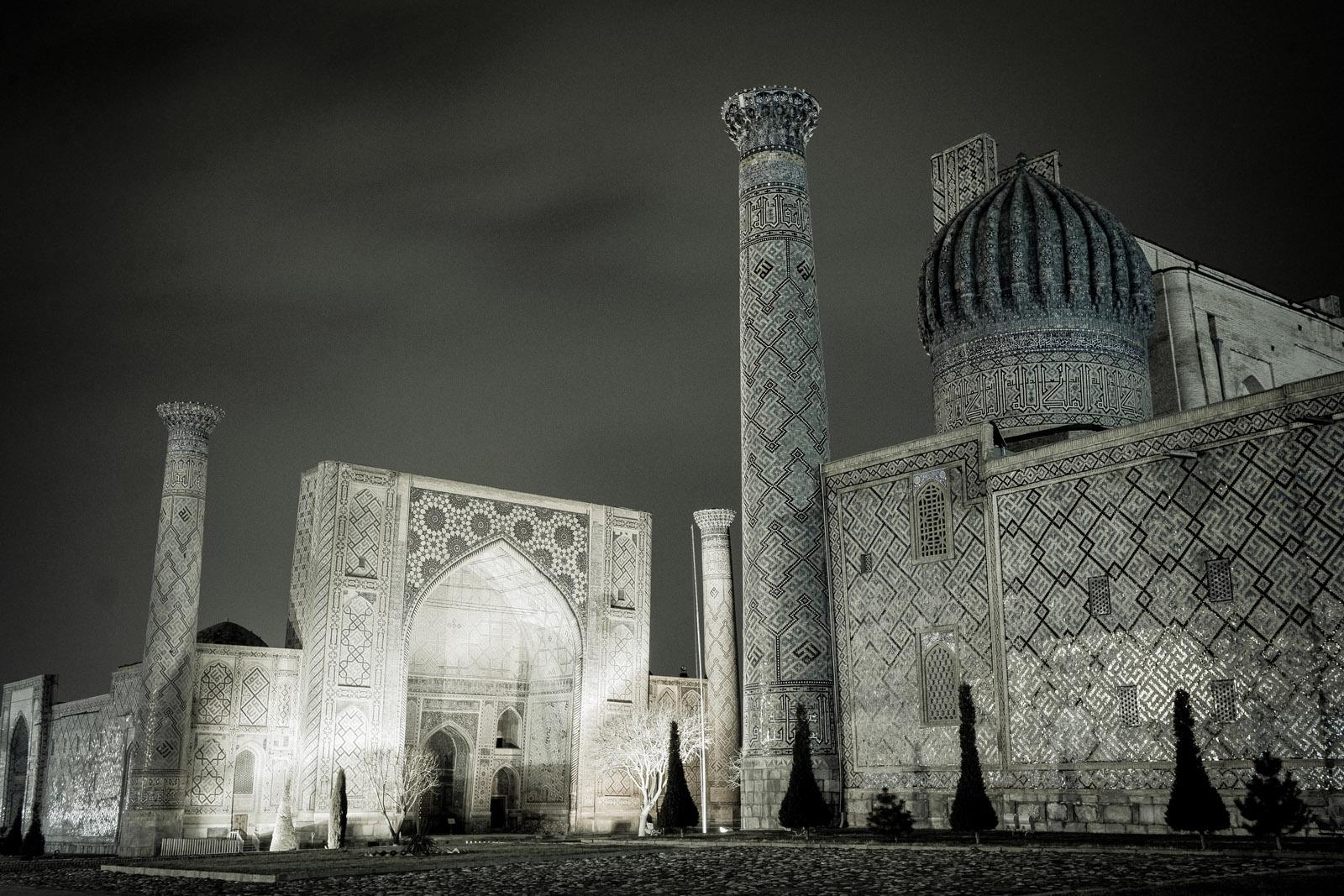 Registán, Samarcanda, Uzbekistán. Foto © Ezequiel Scagnetti.