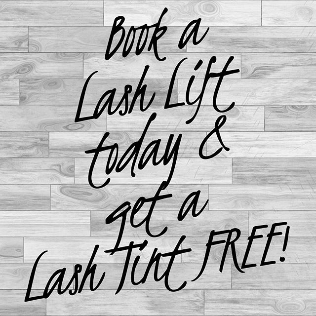 Did you hear that right? Yes FREE lash tint today only with a lash lift! 🤭🎉 #prettyfoofoosalon #lashextensions #lashlift #lashtint #lashes #summer #salonspa #lash #free #yesplease #fab