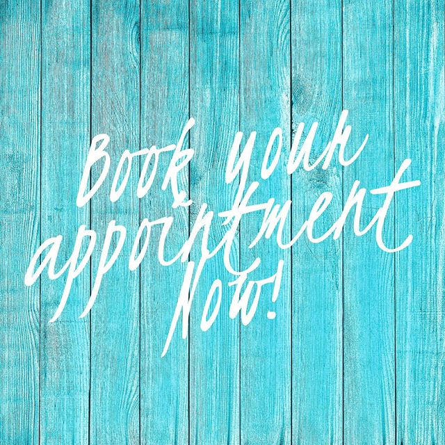 BOOK NOW! Appointments filling up fast!  #prettyfoofoosalon #booknow #hairstyle #haircolor #summer #salonspa