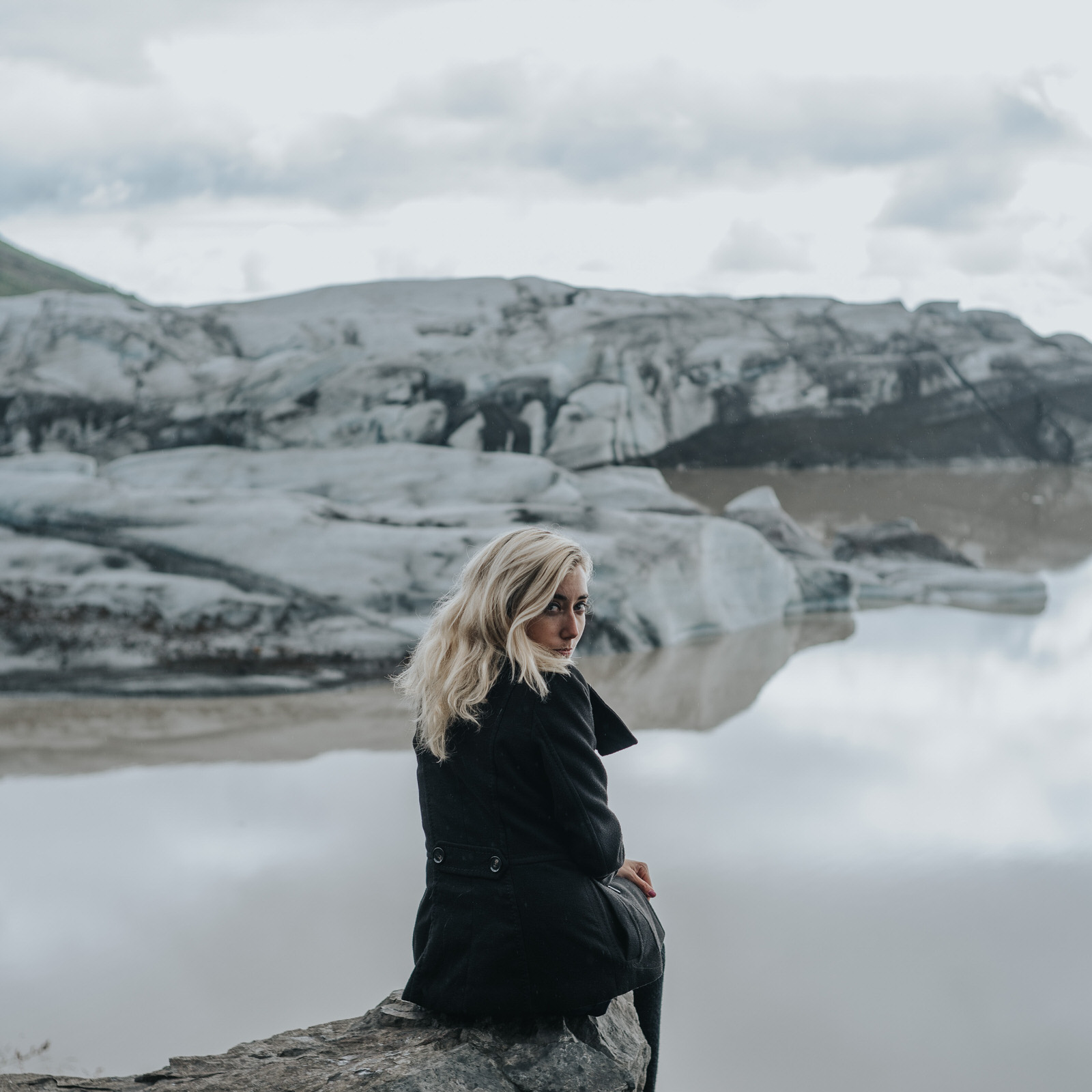 Lake portrait of Sherese Elsey by Jaclyn Le