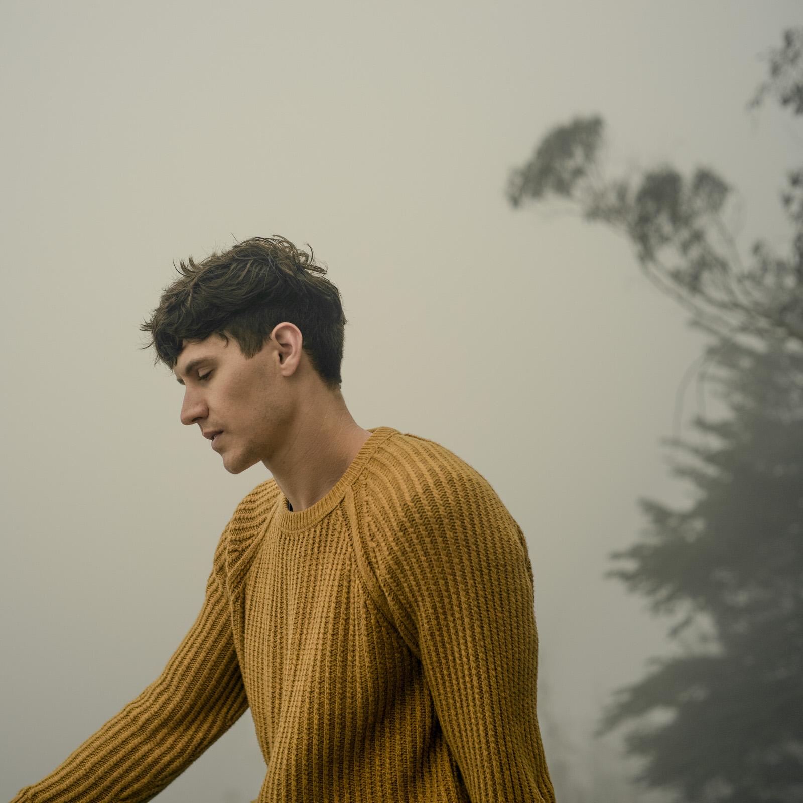 Fog portrait of Zach by Jaclyn Le