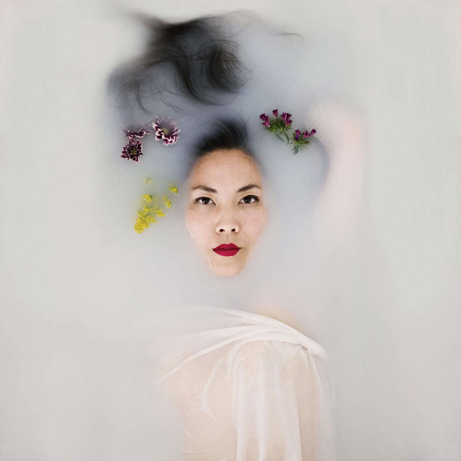 Goddess Milk Bath Portrait of Mia by Jaclyn Le