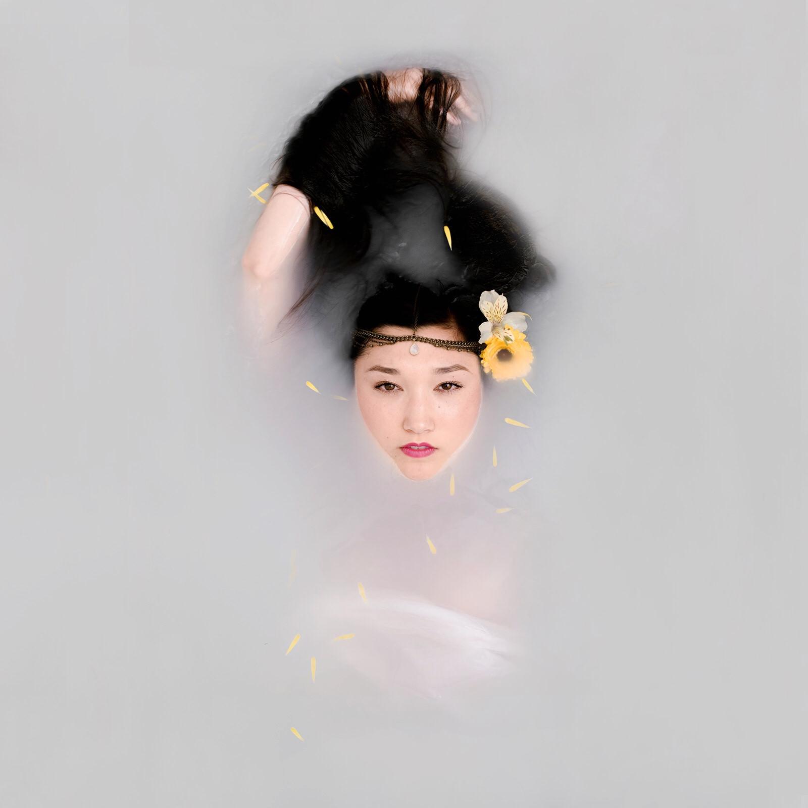 Goddess Milk Bath Portrait of Christine by Jaclyn Le