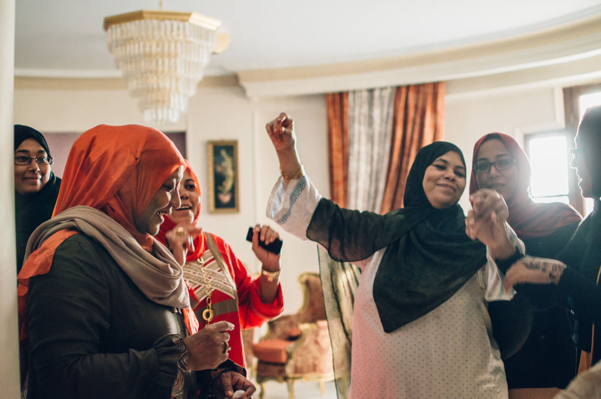 Menna & Hamsa - Egyptian Nubian Muslim Wedding by Jaclyn Le
