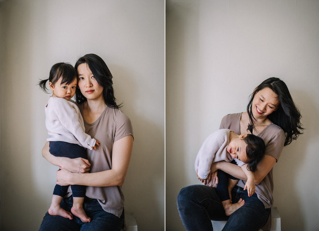 Mother and Toddler Classic Portrait SF - Christy