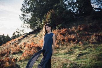 Mount Tamalpais portrait of Majo Molfino by Bay Area photographer Jaclyn Le