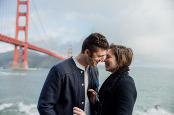 Golden Gate Bridge SF Anniversary Photo Shoot