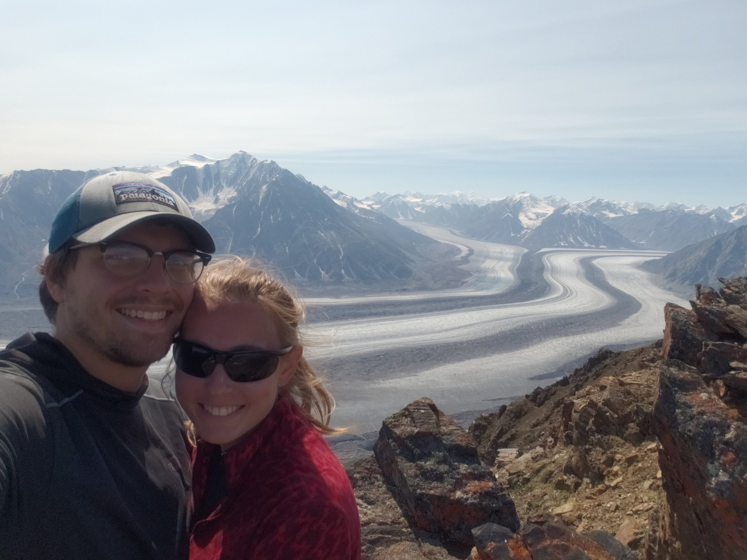 The glacier is the main course of this backpacking route, and the valley hike is just an appetizer.