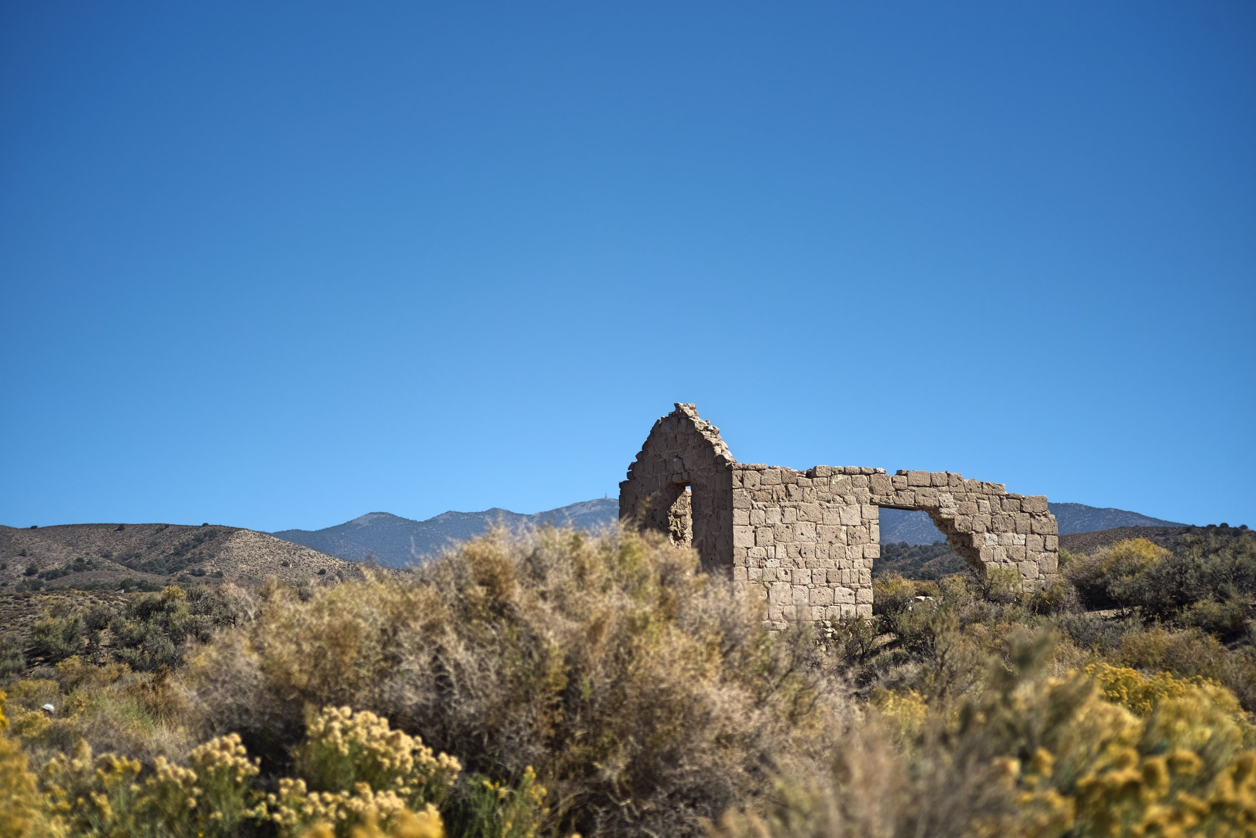 The old Palmetto Post Office is the most intact building in Palmetto Ghost Town.