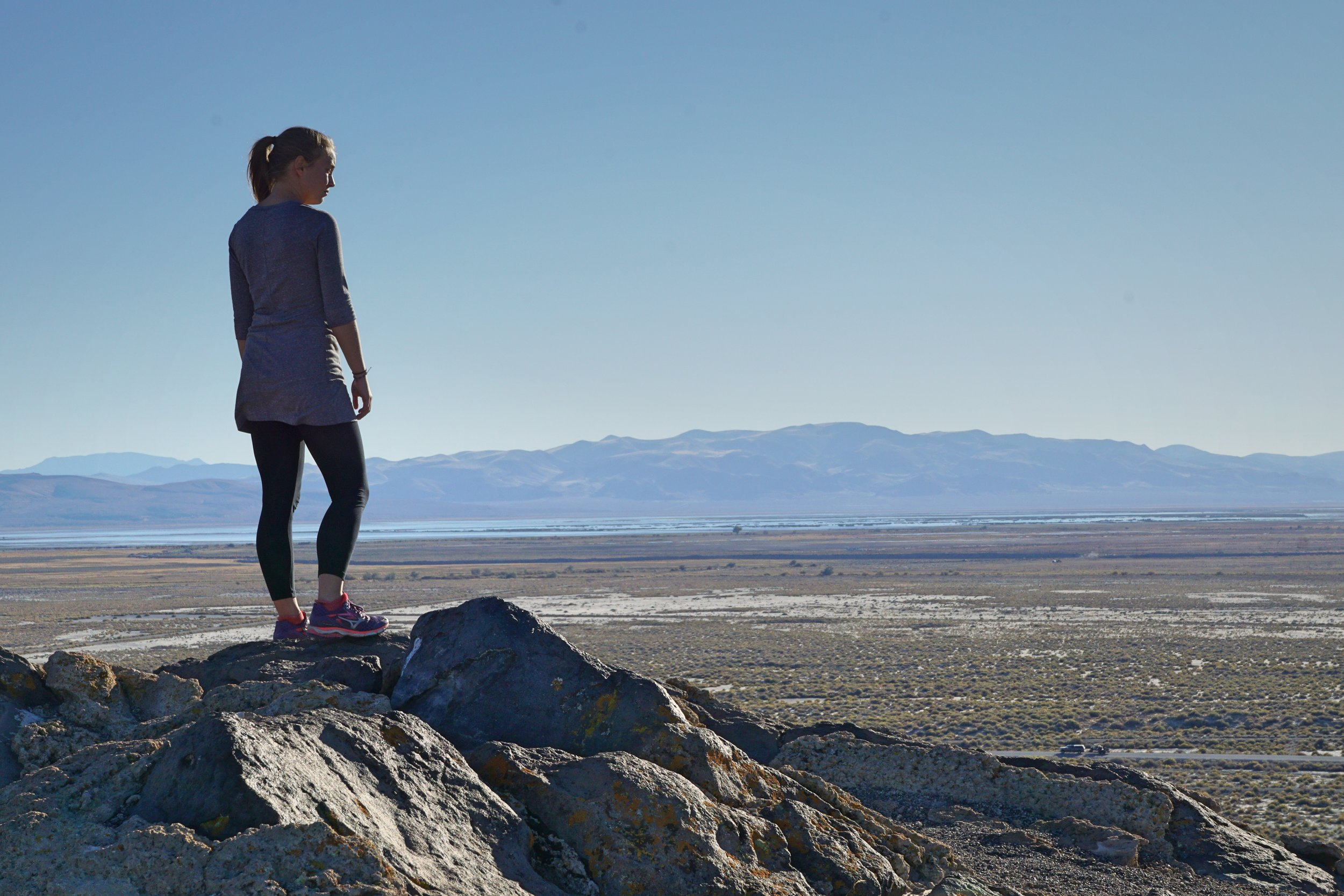 On Top of Grimes Point in Falon Nevada