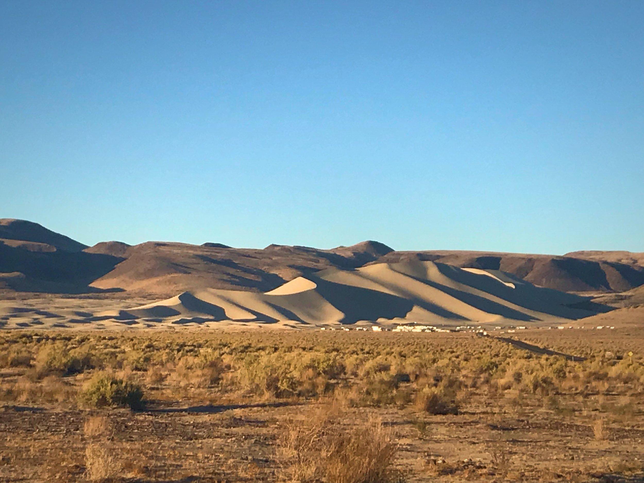 Sand Mountain in Fallon Nevada Sand Dunes