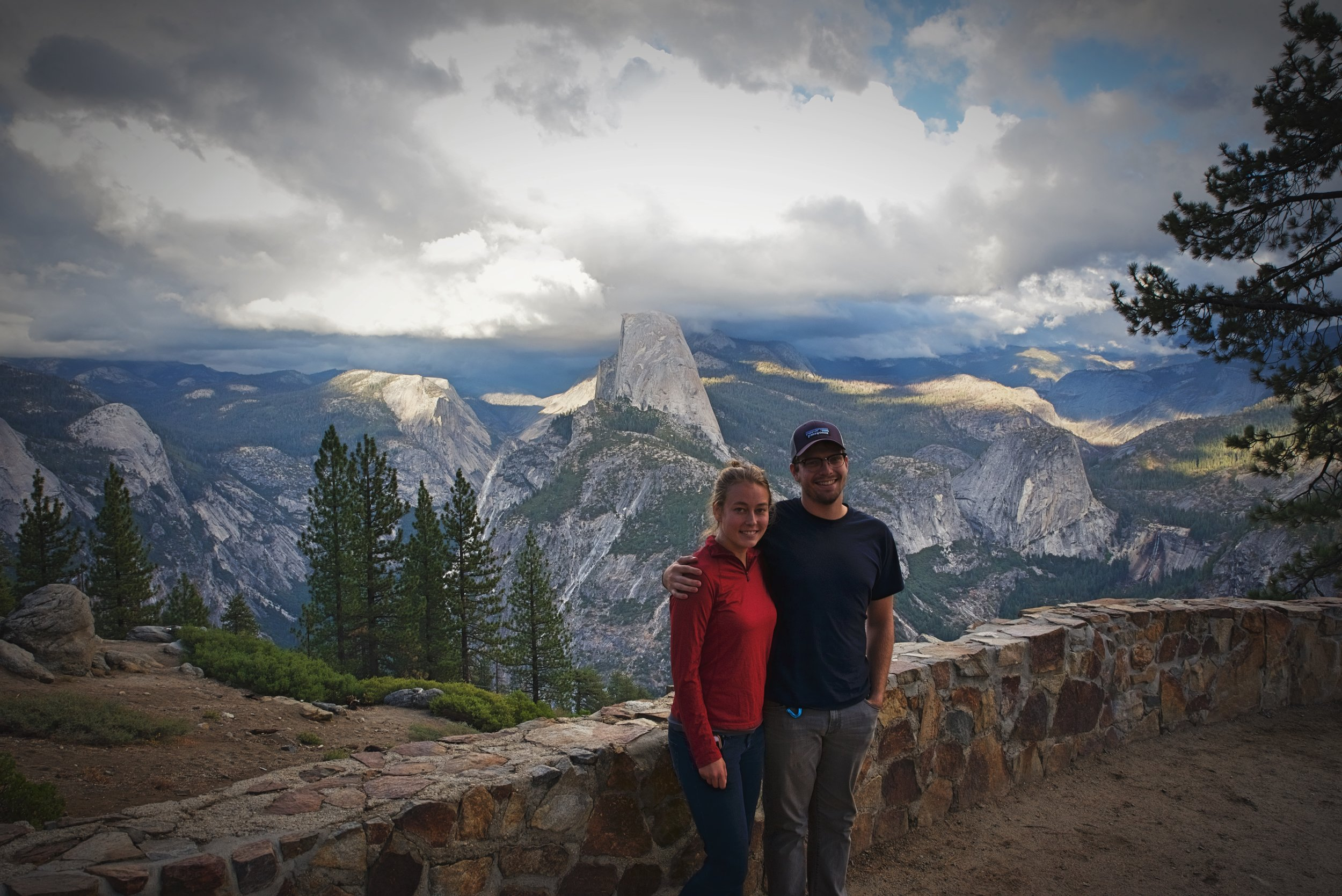 Washburn Point is definitely worth the stop on the way to Glacier Point.