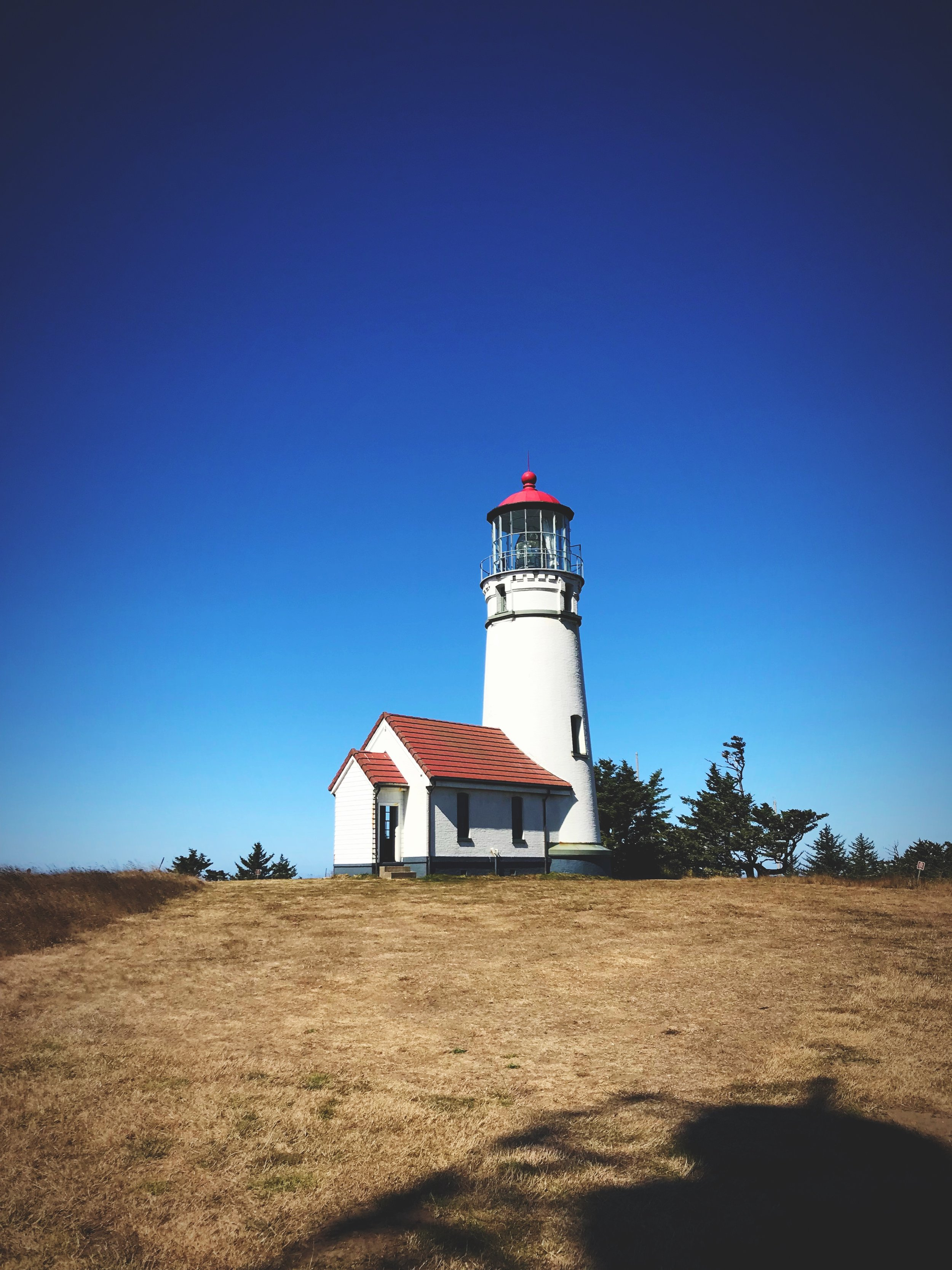 The Cape Blanco Lighthouse is the oldest on the coast of Oregon.