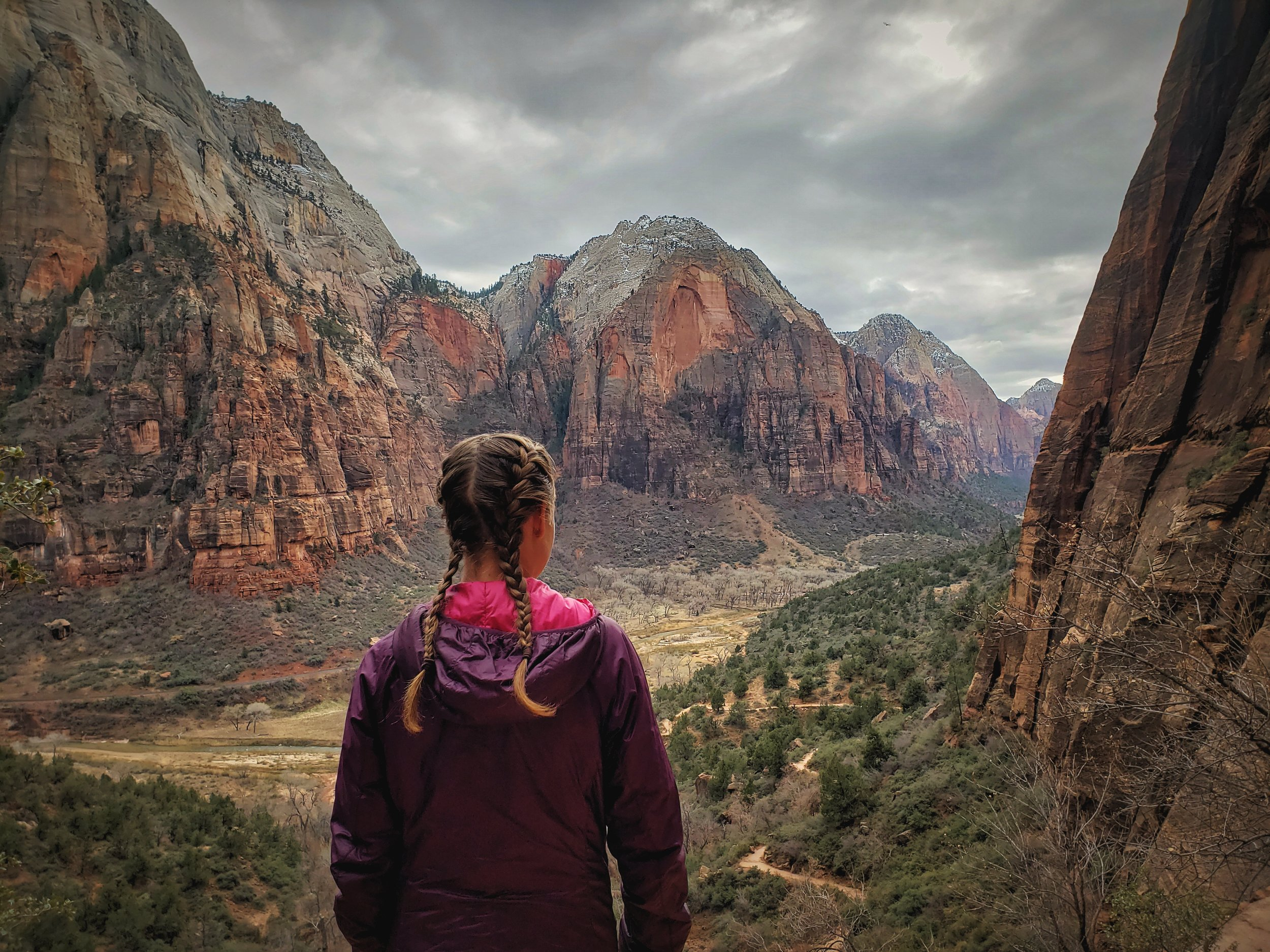 There's plenty to do in Zion National Park in winter. Even if snow or ice prevents you from accessing Angels Landing or the Rim Trails you can still find easy trails that lead you to incredible views.