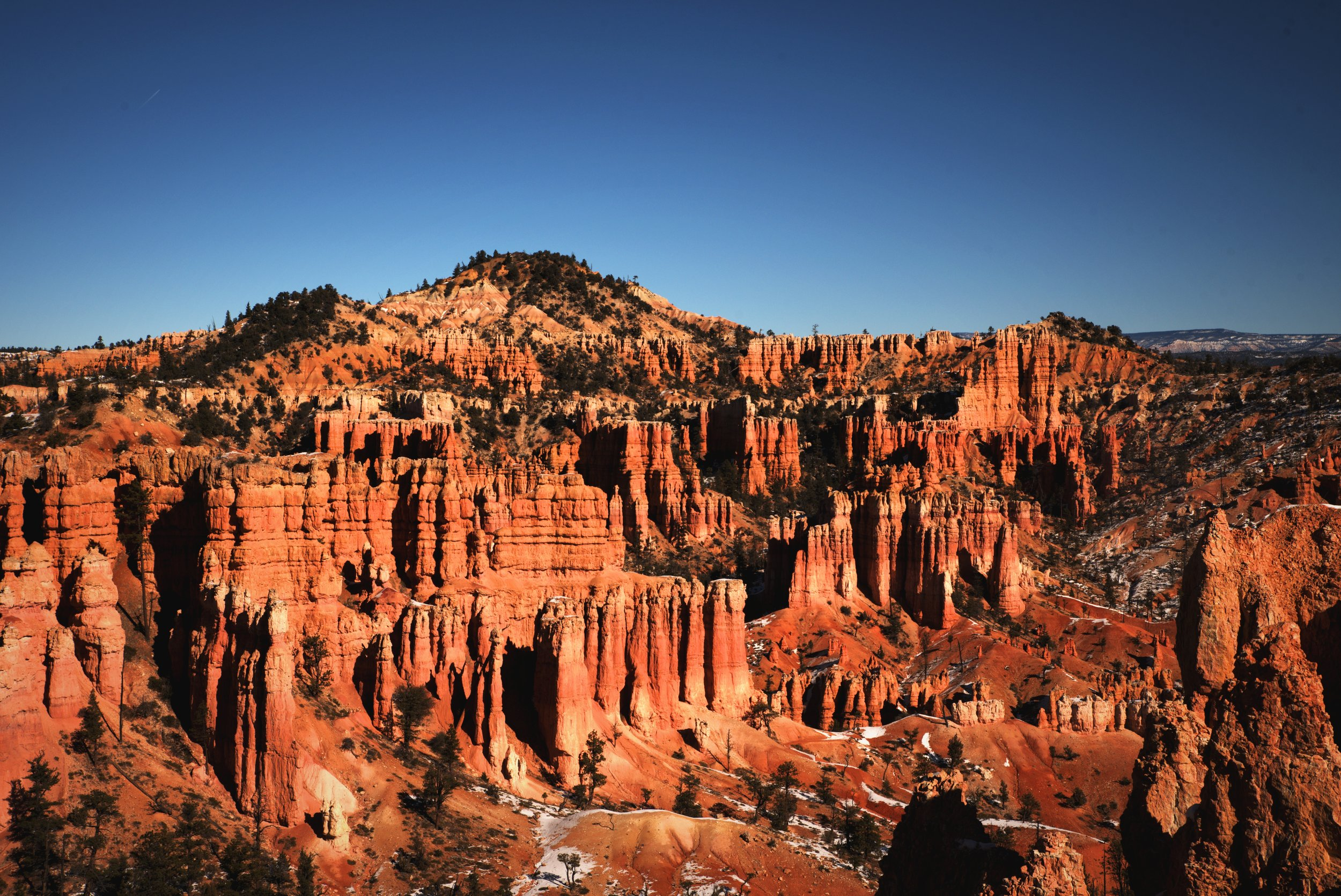 The brilliant hoodoos along the Fairyland Loop in Bryce Canyon National Park.