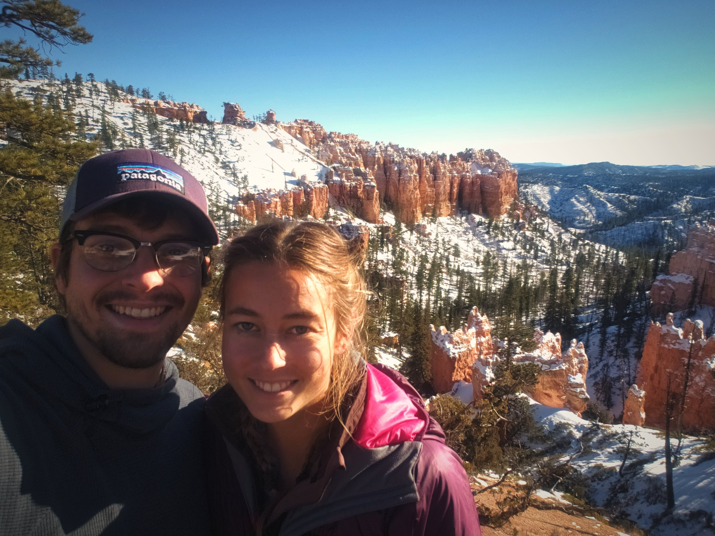 Driving the Bryce Canyon Road is a nice way to spend a chilly afternoon.