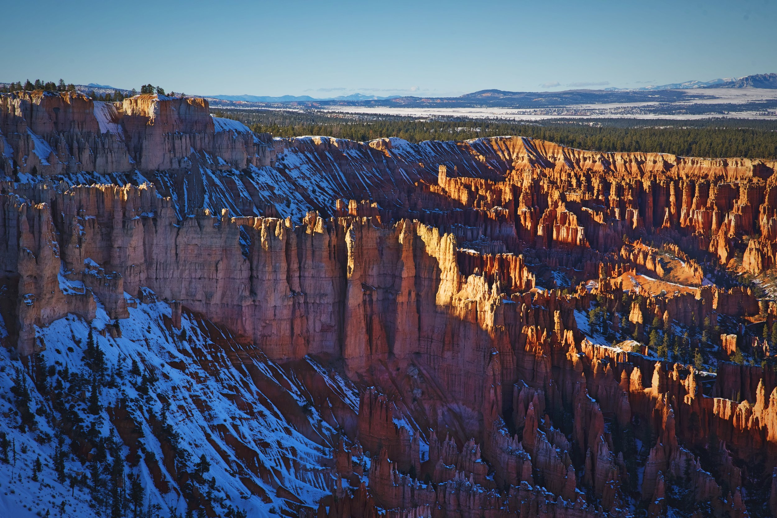 """The Wall of Windows, which can be viewed from Bryce Point, will in the near future become the """"Wall of Hoodoos."""""""
