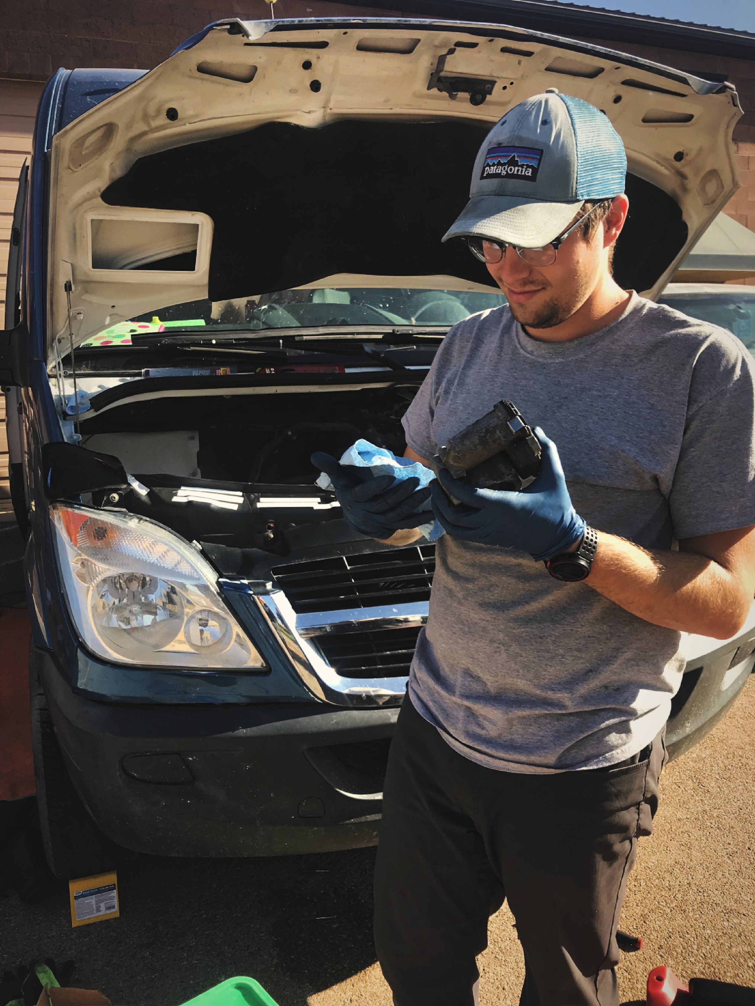 Figure out what parts you need before you start to tear your vehicle apart and can't move.