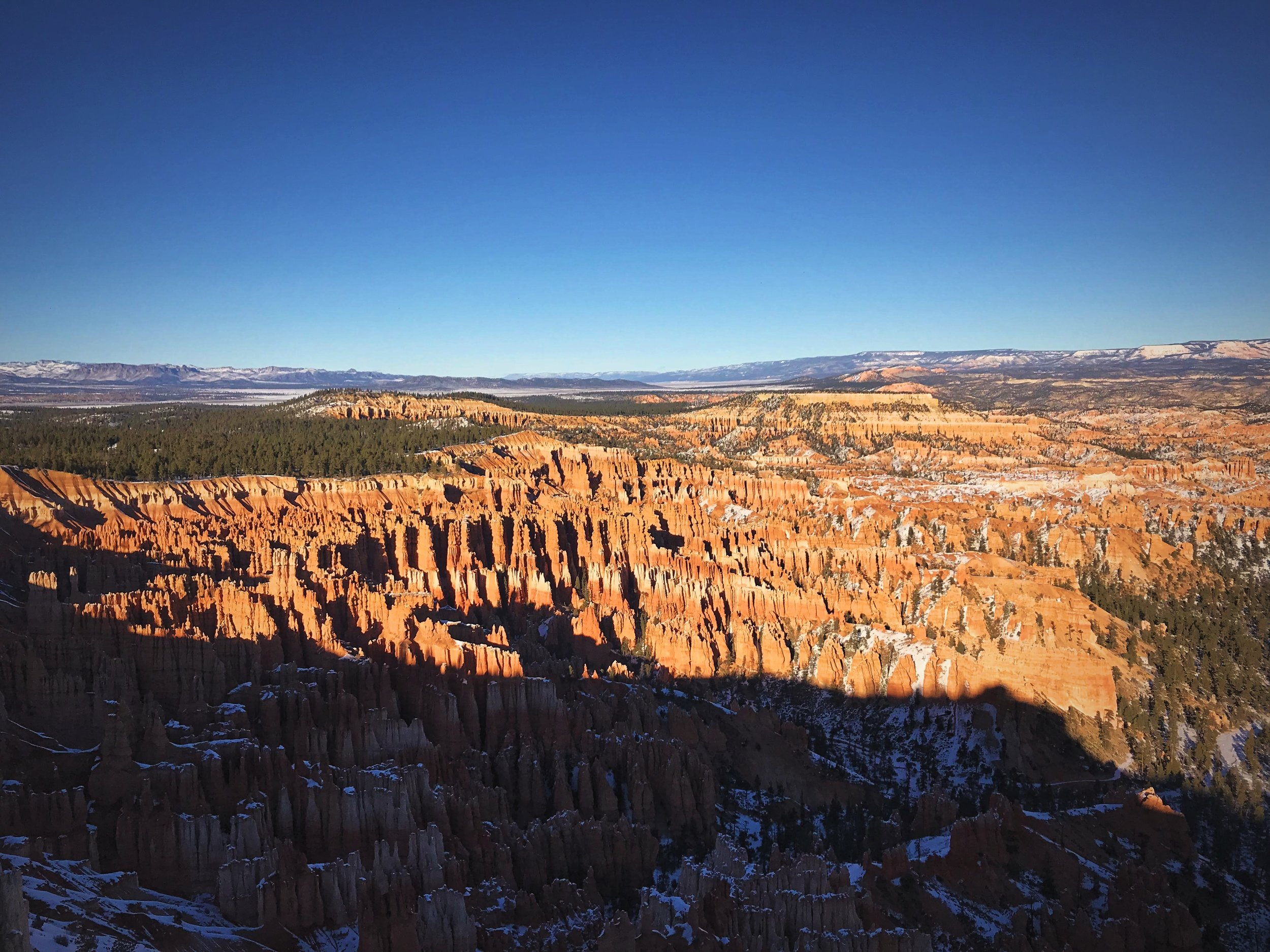 """The """"Silent City"""" from Bryce Point."""