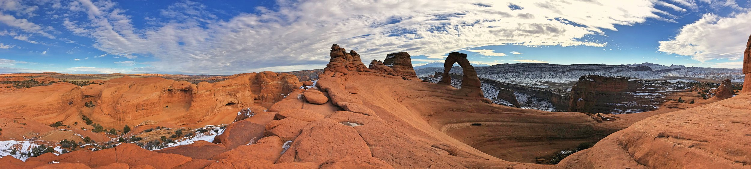 The scale of Delicate Arch will likely take you by surprise.