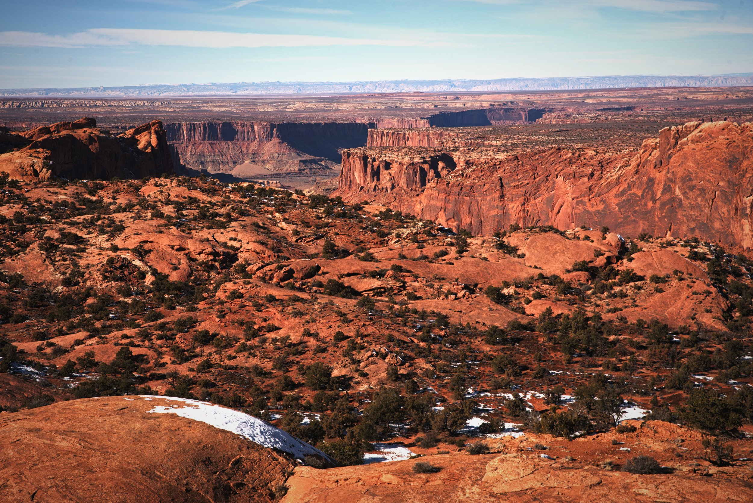 The view from the top of Whale Rock in Canyonlands National Park is incredible!