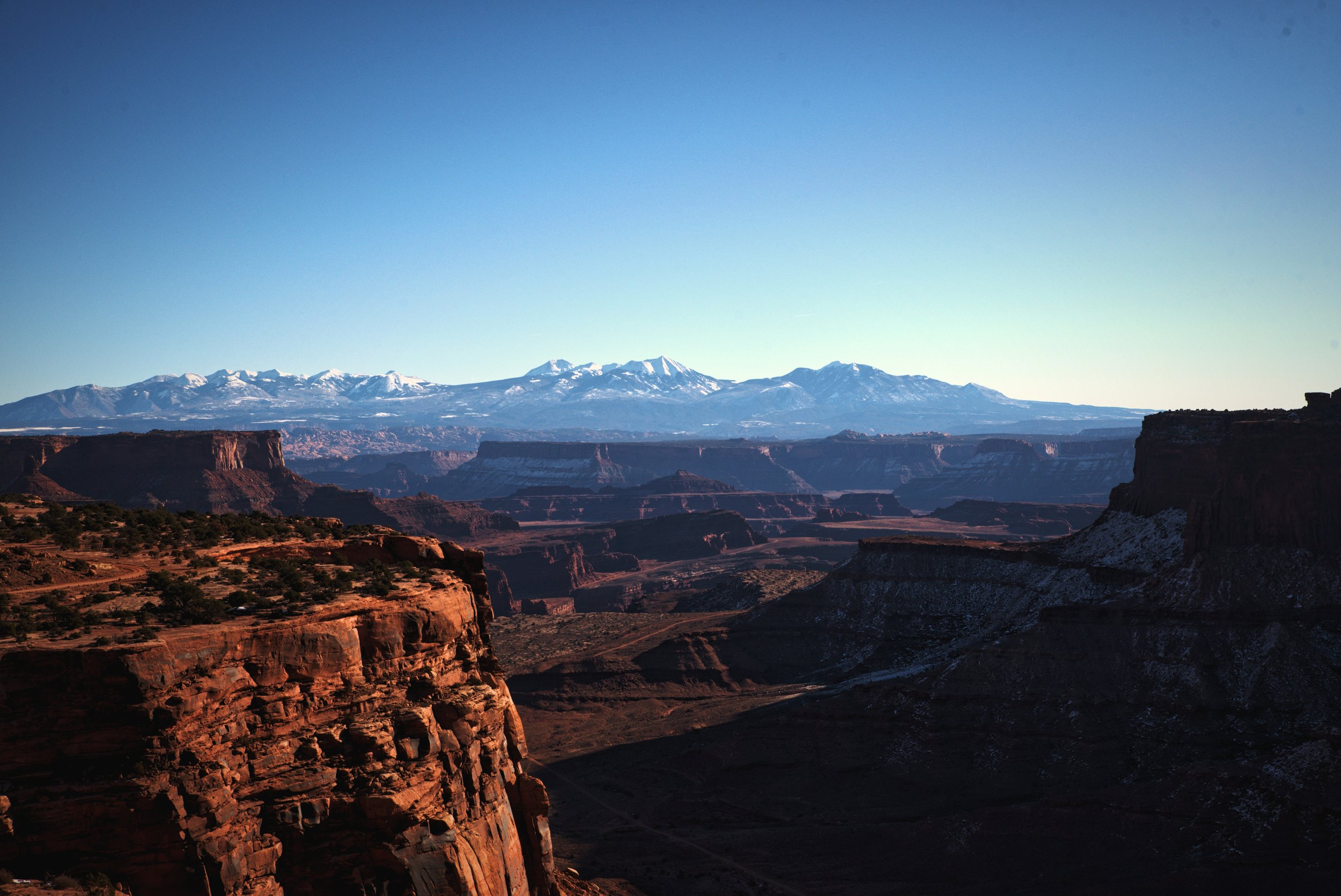 The landscape of Canyonlands will have you questioning whether you are on Earth or on Mars.