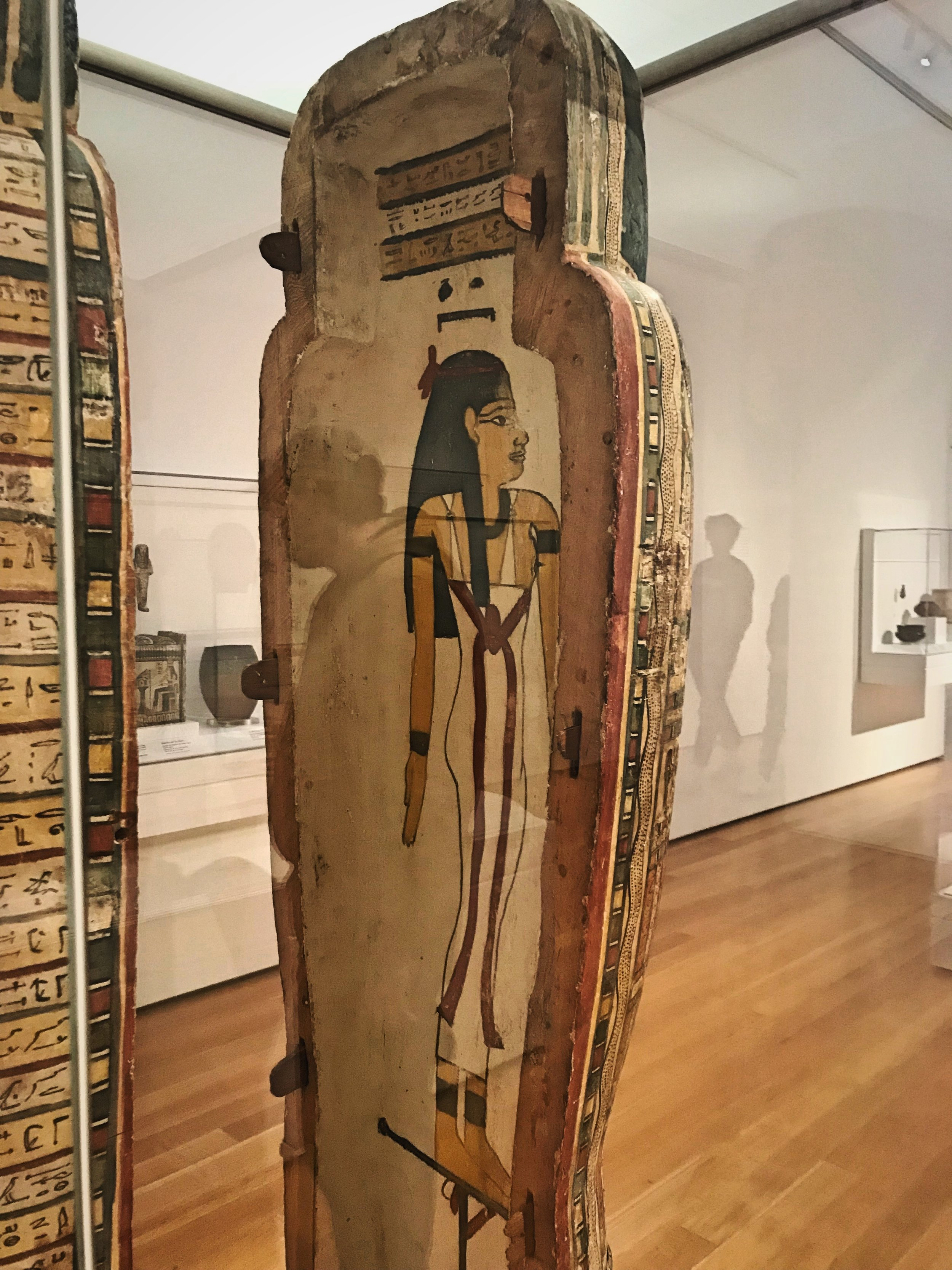 The artwork at the North Carolina Museum of Art includes many antiquities.