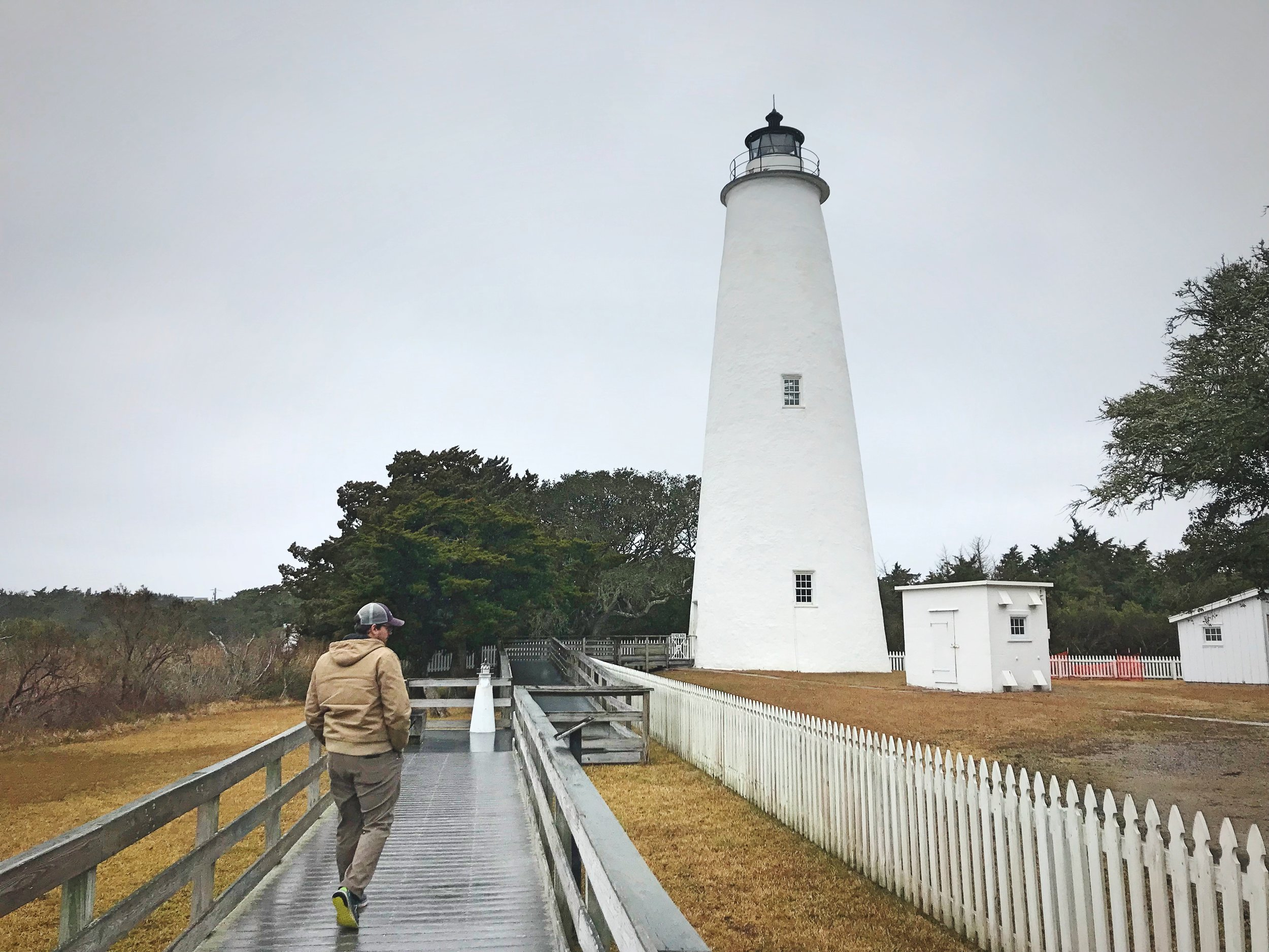 We endured some pretty cold, wet weather in the Outer Banks, but we still saw a lot.