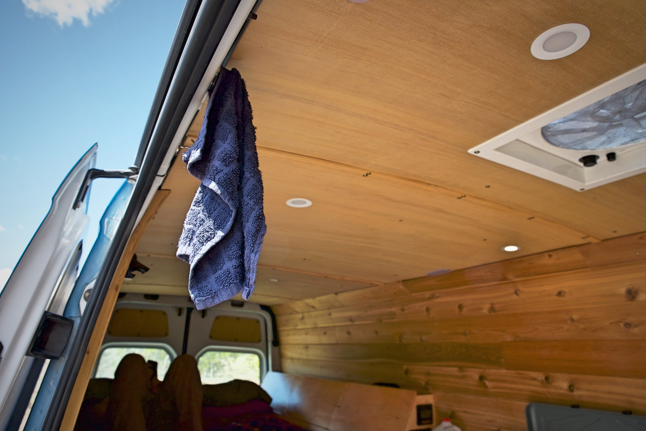 How We Shower While Living Full Time in a Van