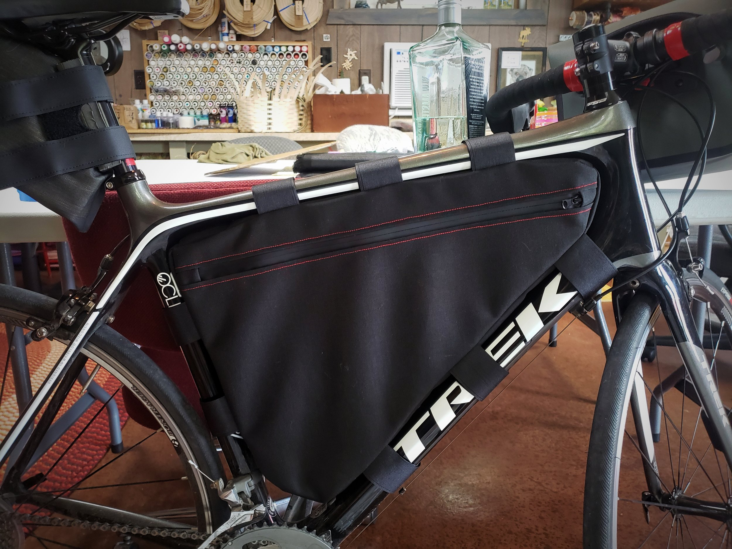 How to Sew a DIY Frame Pack for Your Bike