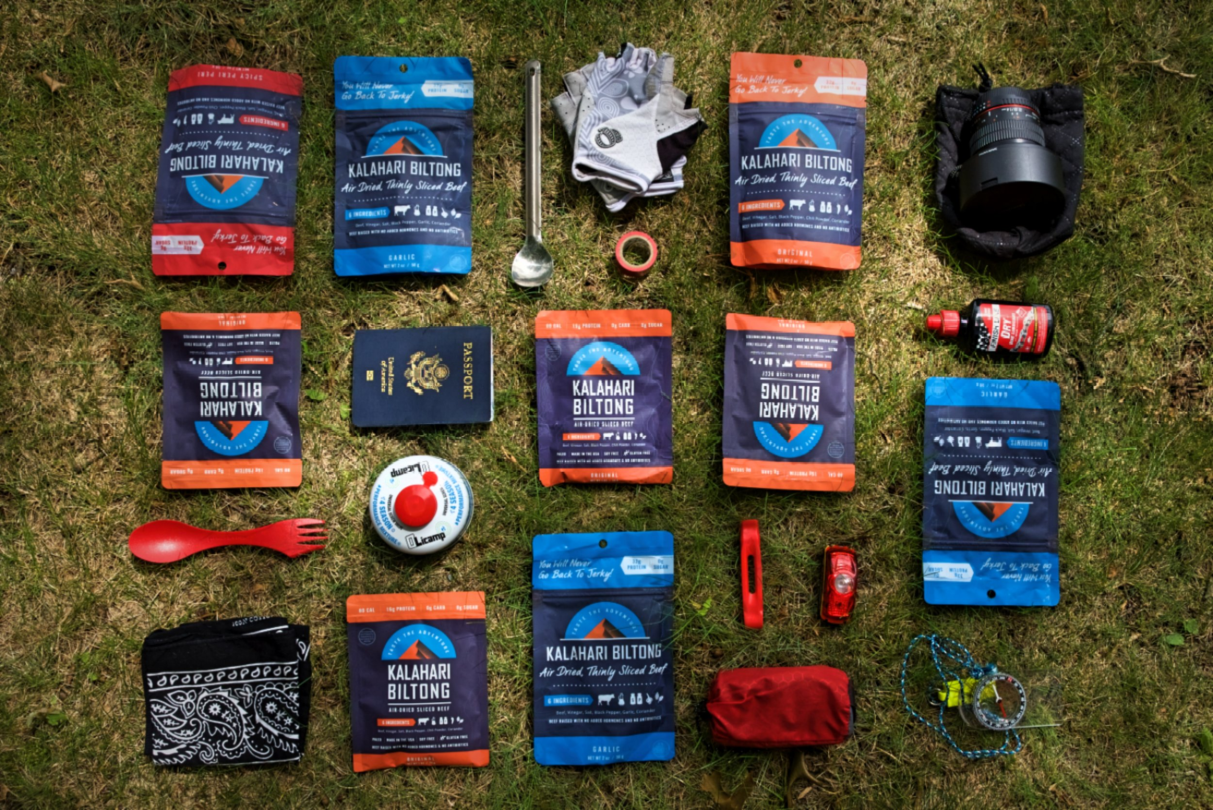 Not eating enough protein on a long-distance expedition can suppress your immune system and lengthen the amount of time to recover. A high protein food like biltong will keep you going strong.