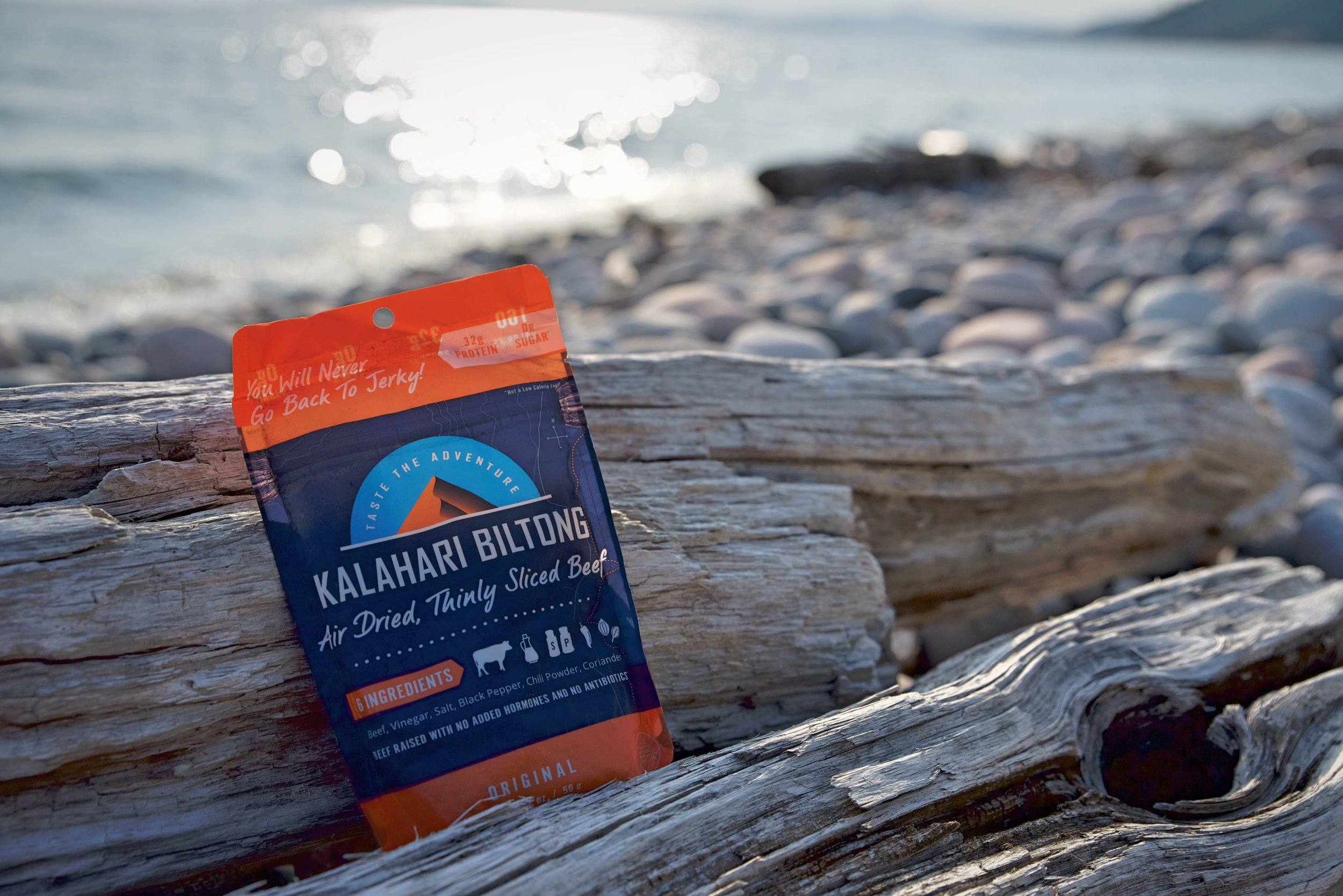 Kalahari Biltong has no carbs or sugar, which is a great contrast from so many other trail foods.