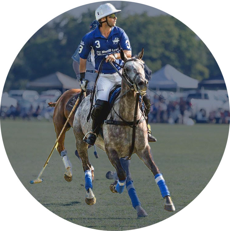 Juan valerdIco-founder - Juan's interest in Polo started when he was young. His father is a veterinarian and he played Polo as a hobby, introducing Juan and his brothers to the sport. He competed in different tournaments in his hometown, General Levalle, Córdoba, Argentina, and surrounding areas. However, his career as a professional Polo player started in the United States. He started out working as a groom and later on had the opportunity to start playing practices and making his own polo horses. By that time, he was 0 goal handicap. After a few tournaments, he was raised to 2 goal handicap. He brought a few horses from Argentina, made in his hometown by his brother and father, in order to have good horses and play better.Playing some tournaments in South Carolina, Kentucky, and Florida, he was raised from 2 to 3 handicap in 2003, and then for 3 to 4 handicap in 2004. He has played most of his career at Lexington Polo Club, in Lexington, Kentucky, but has traveled to many different states according to the season. He kept this handicap until the end of 2013, where I was raised to 5 goal handicap. One year later, I came back to 4 goal handicap. Since then, he has played and trained young horses to make them future polo players. In one sentence about his work,