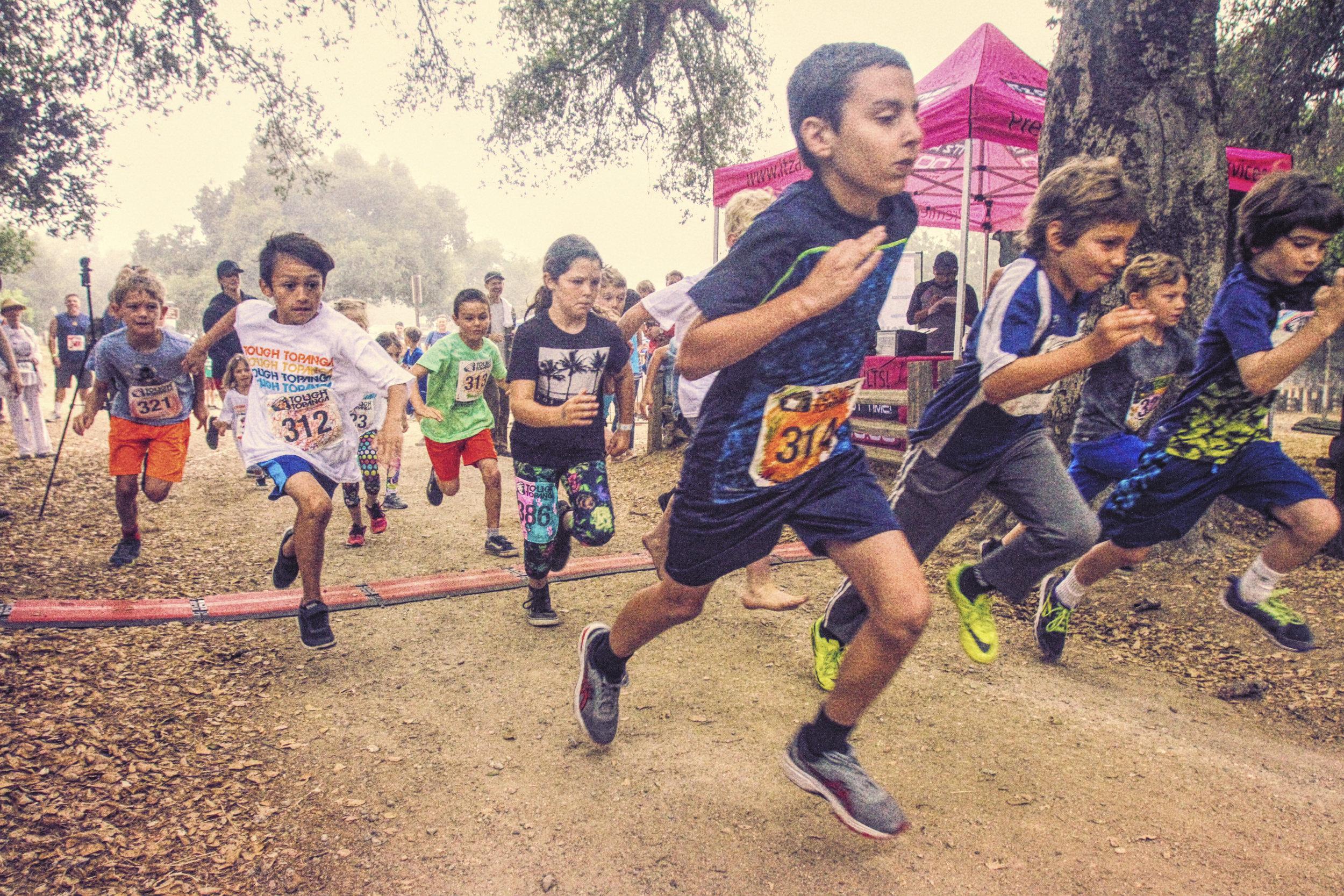 Kid's Tough Topanga 10k Kids Fun Junior Run