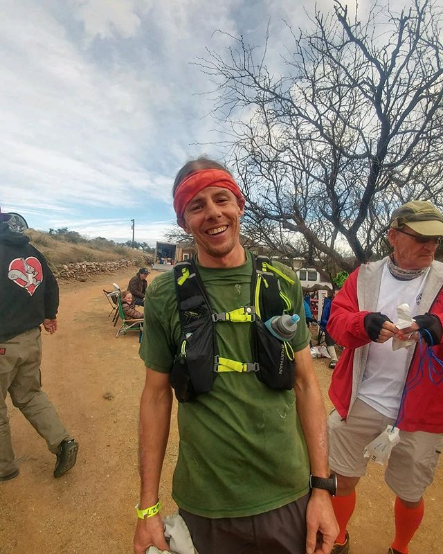I read about the Old Pueblo 50-mile Endurance Run. It's one of the oldest ultras in Arizona, and like @bulldog_ultra, it has two hard loops on an awesome fire roads and singletrack.  The OP50, as the locals call it, also has creek crossings, long climbs, and epic views. It was much more technical and even had snow on the trails.  This race kicked my ass, and it was exactly what I was looking for!! . . . #bulldogultra #50k #25k #ultra #endurance #ultrarunner #trailrunning #santamonicamountains #malibu #malibucreekstatepark  #toughtopanga #10k #trailrace #letsrun #outdoors #everyday #traillife #topanga #socal #mountains #plantbasedathlete #losangeles #finishline #gratitude #runner #nathanhydration #altrarunning #suunto