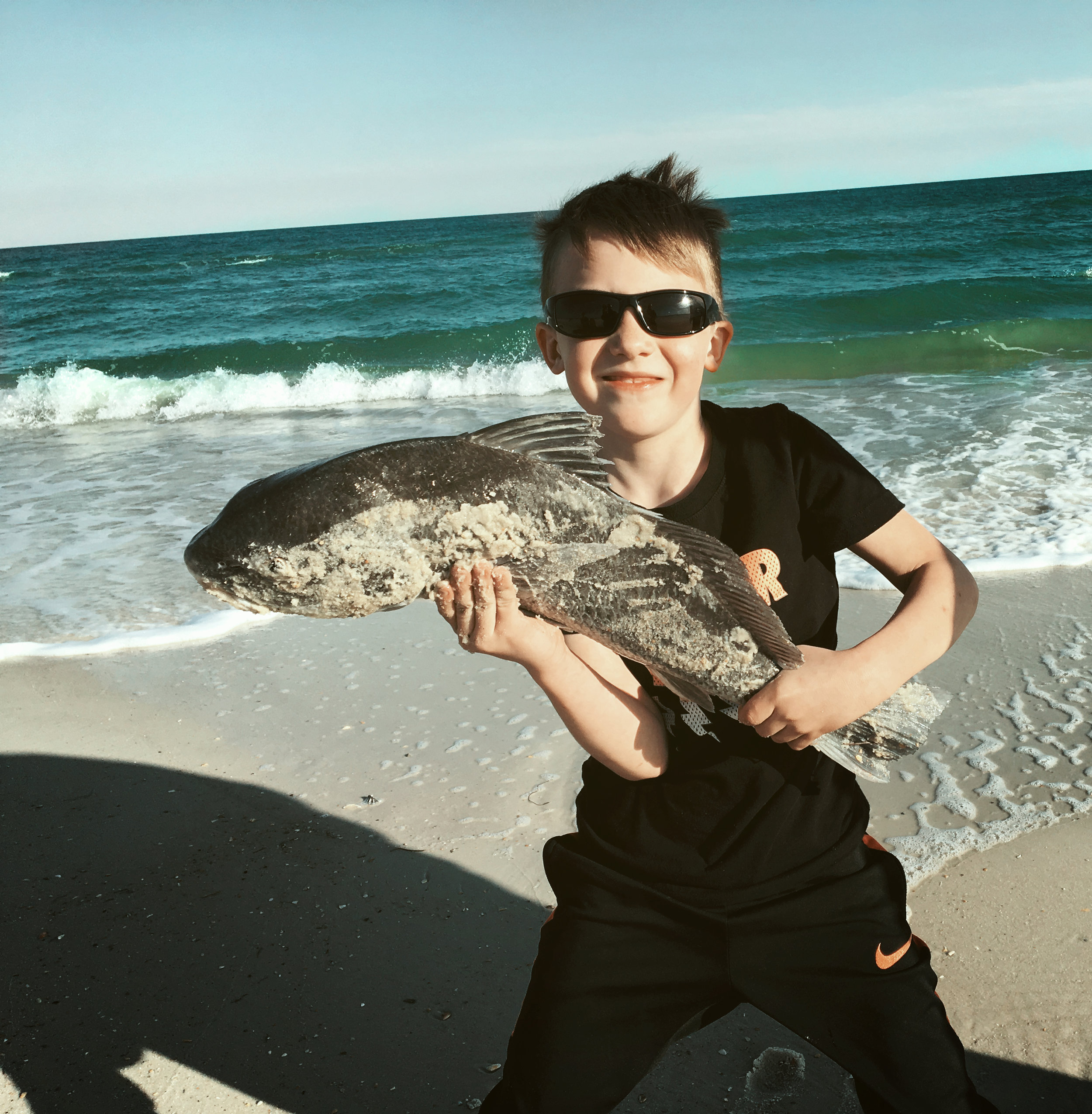 Nace - I love fishing, swimming, boogie boarding, playing with my brother and sisters, helping others, and going on wild adventures. I love my family and who I am. My favorite food is ice cream. So far, the ocean is my favorite playground.