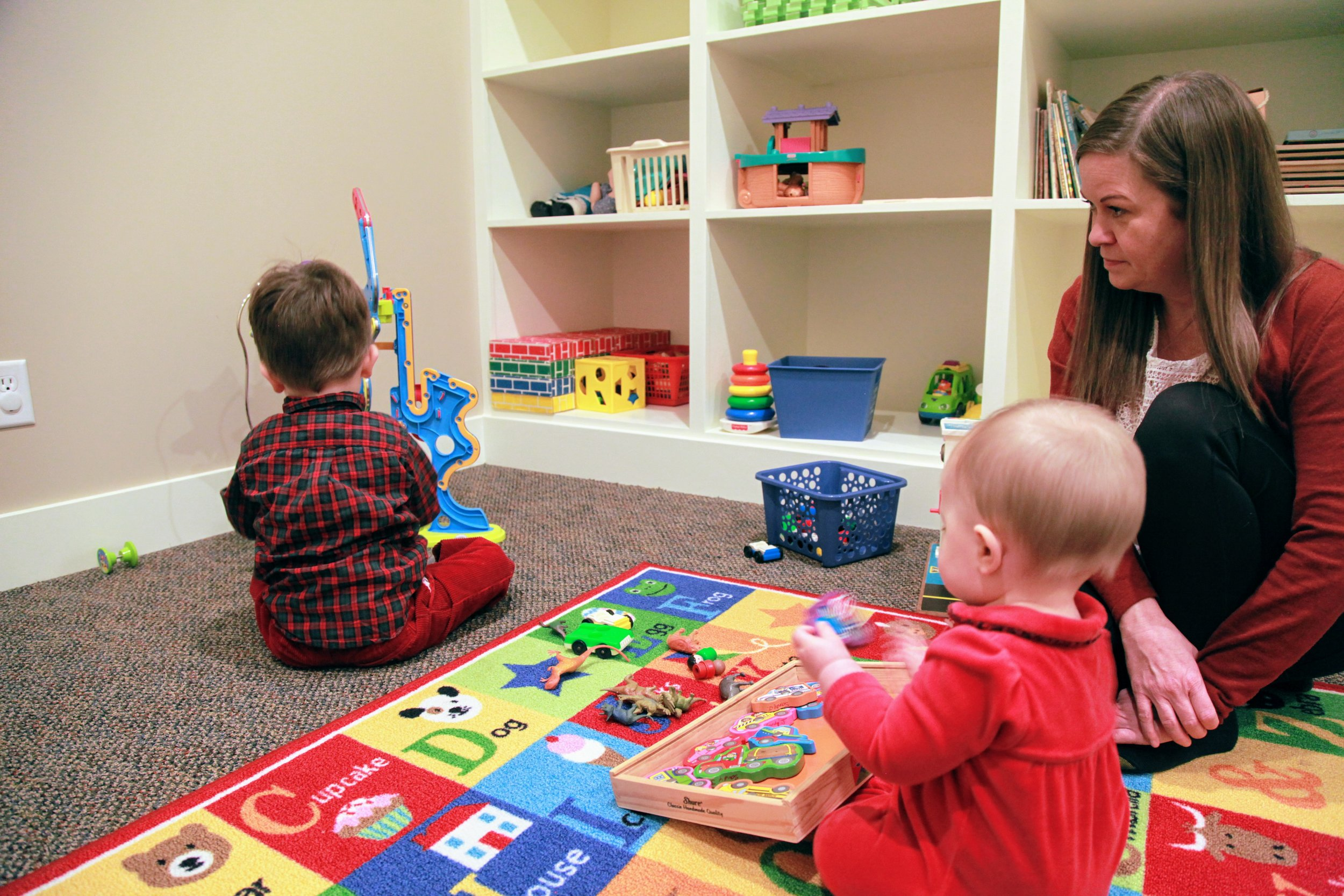 Children's Room - We provide care for infants and young children not yet ready for Sunday School.