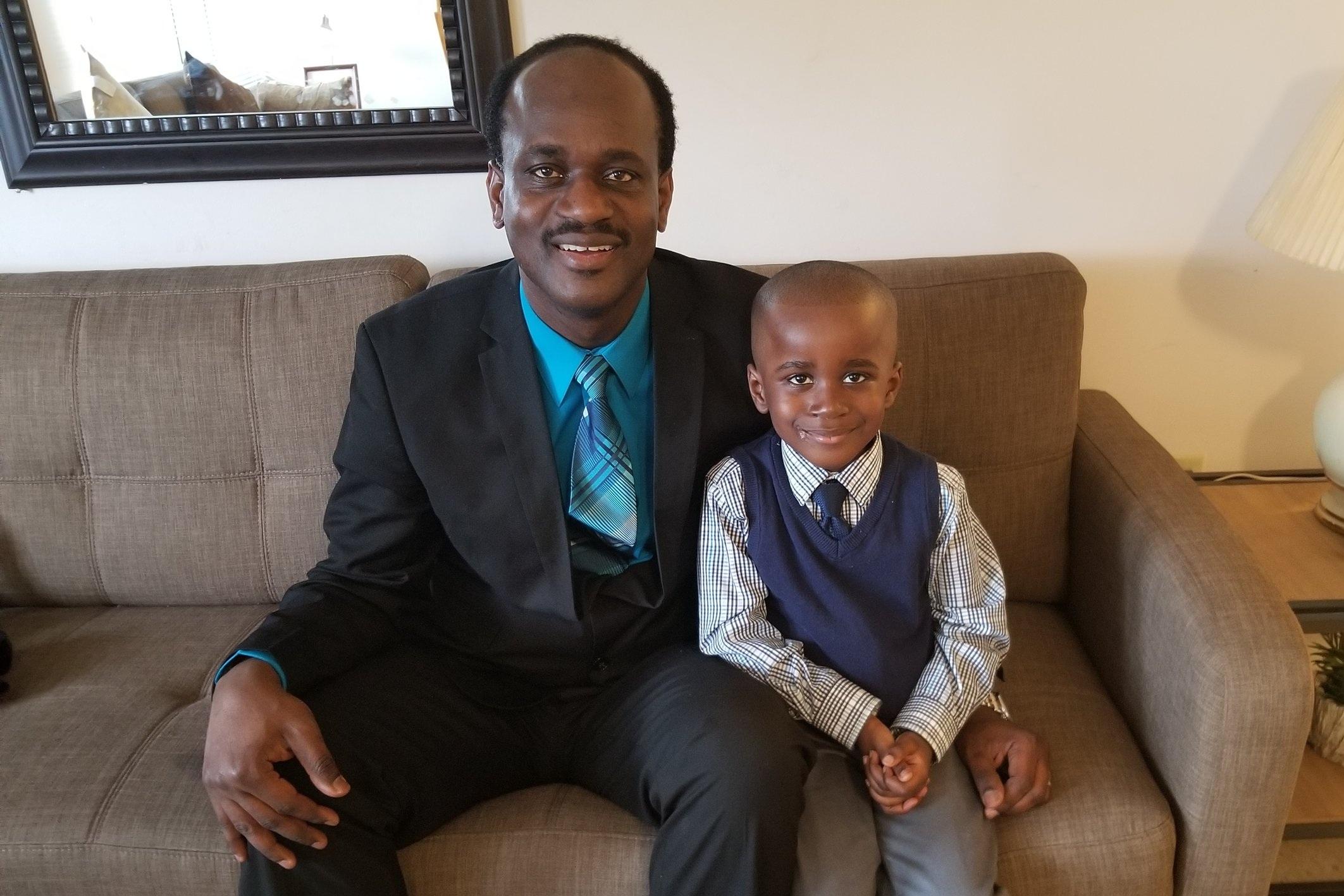 Raxon and his son Raxlander.