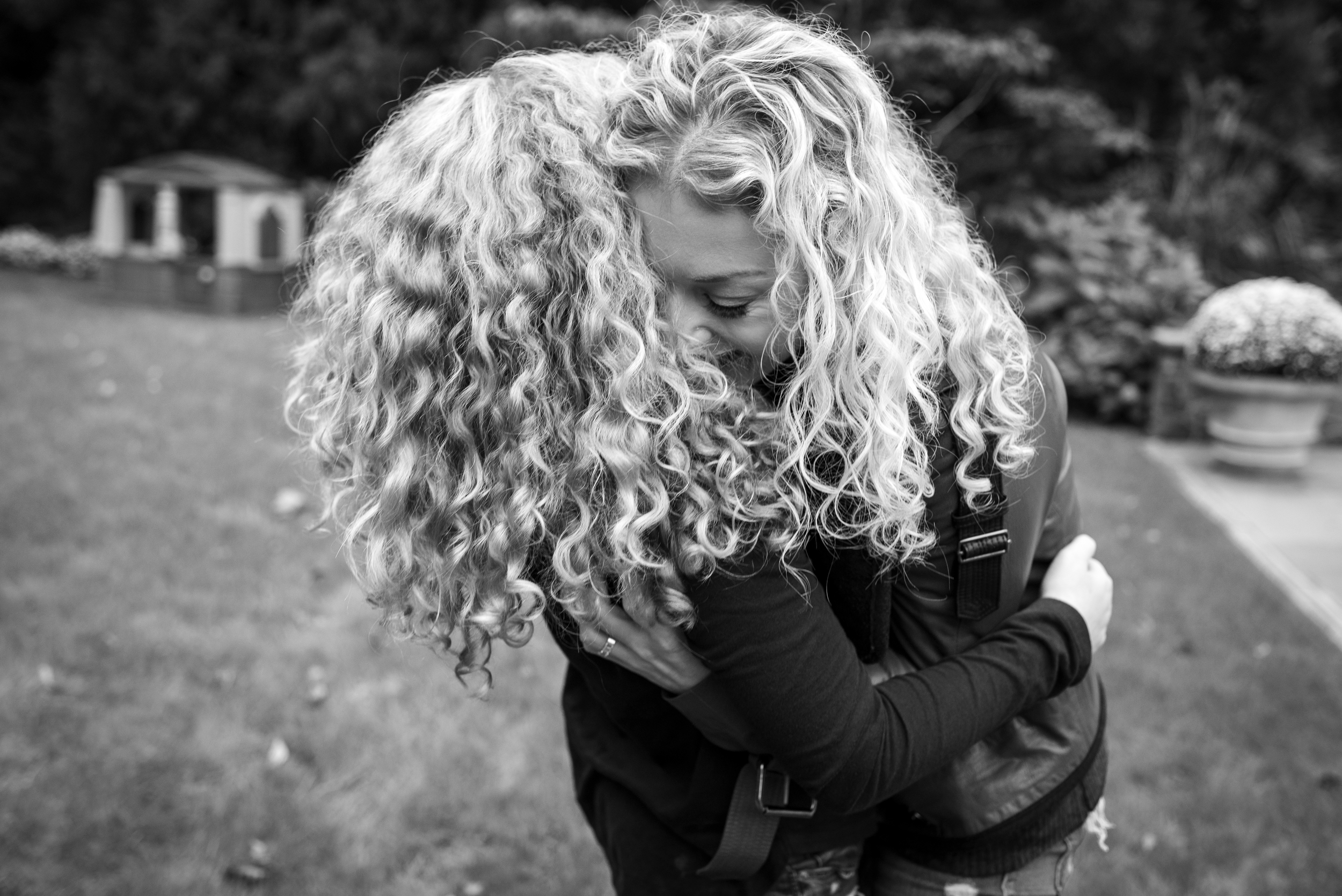 Curls for miles. - I spent a Fall day with this very sweet and loving bunch that consisted of Legos, card games, a mountain of stuffed animals and endless hugs. See their story.