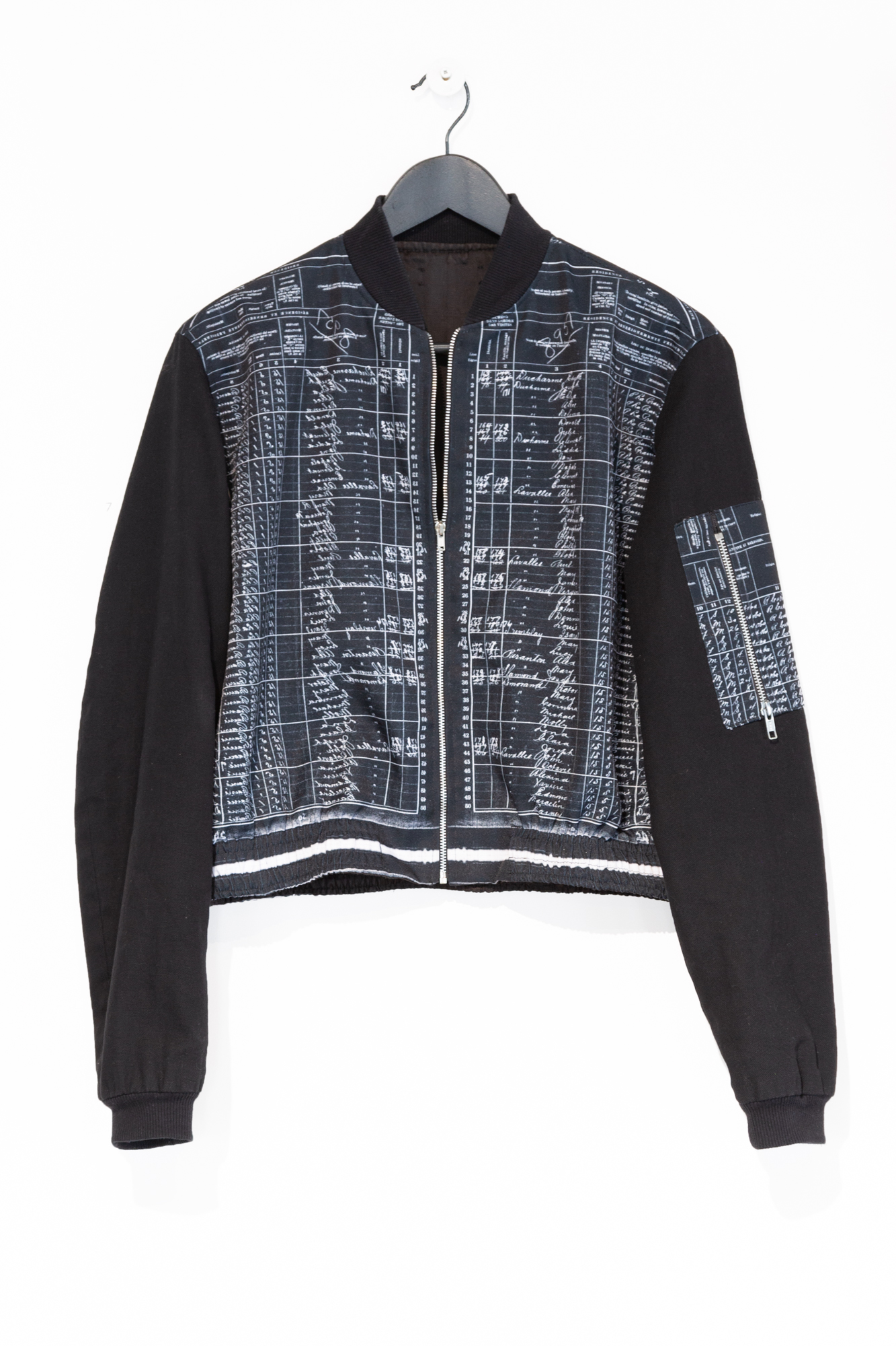 The Census Print Bomber Jacket