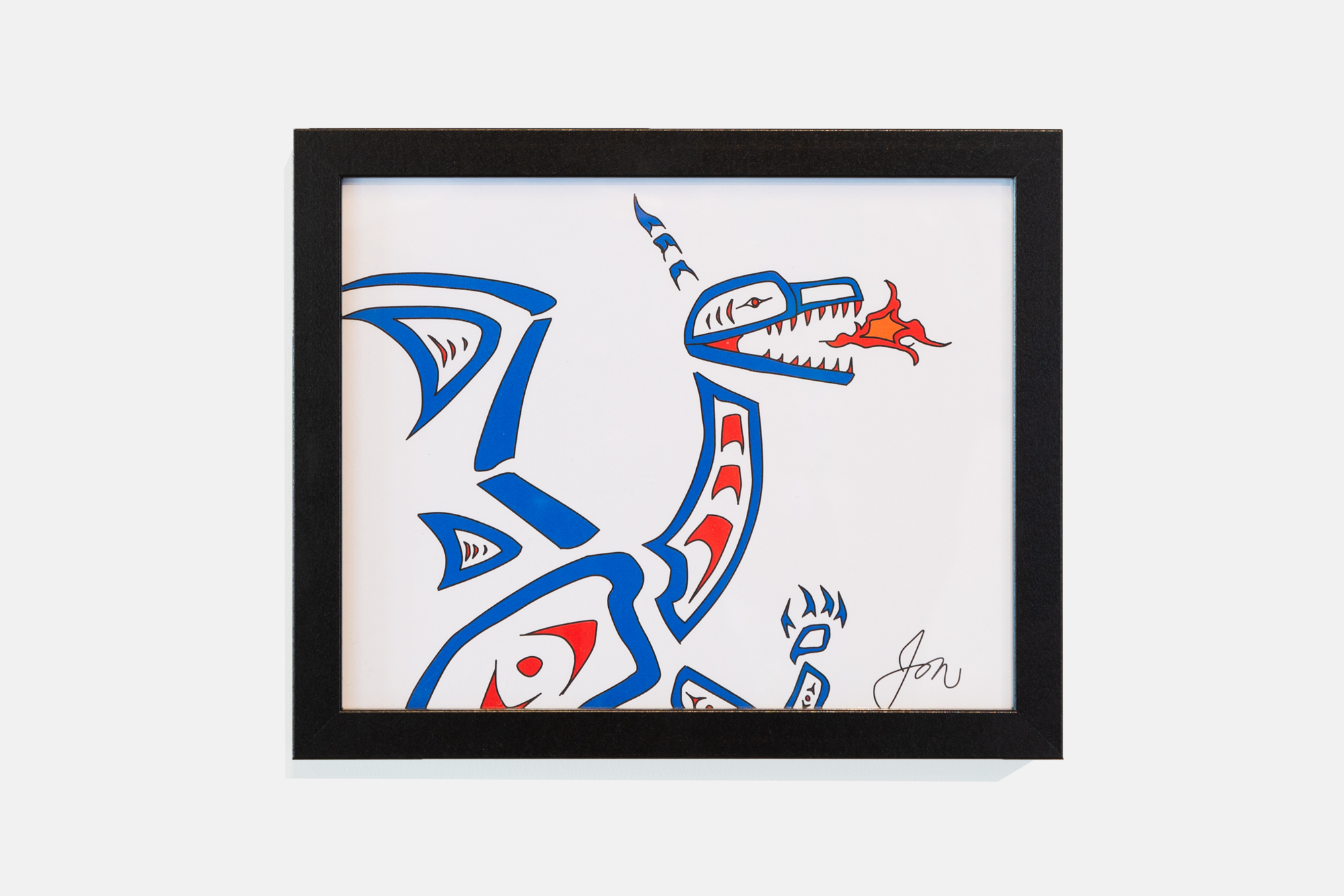 The Nuxalk Dragon