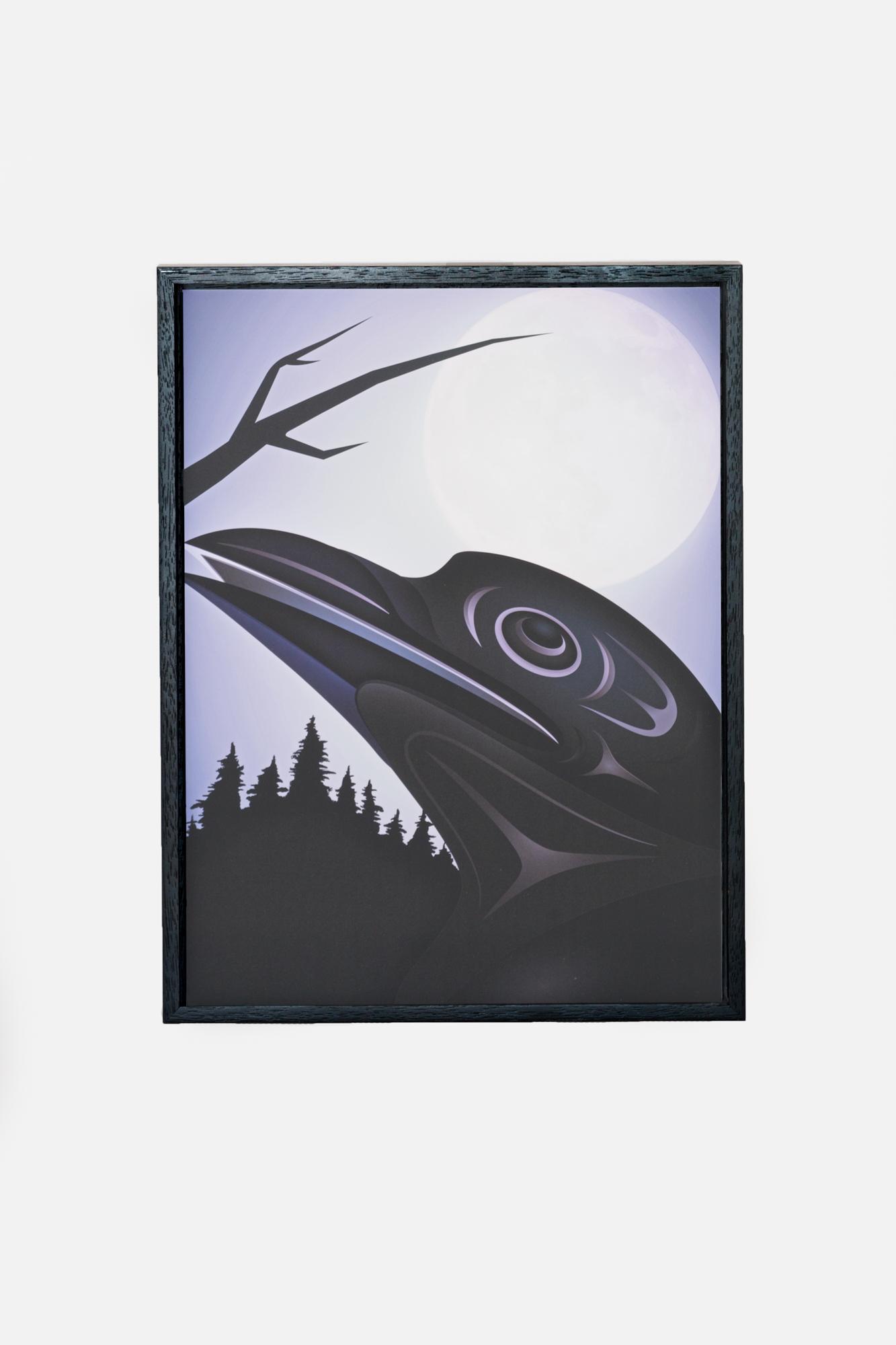 K'AʔK'Aʔ (Crow and Full Moon)