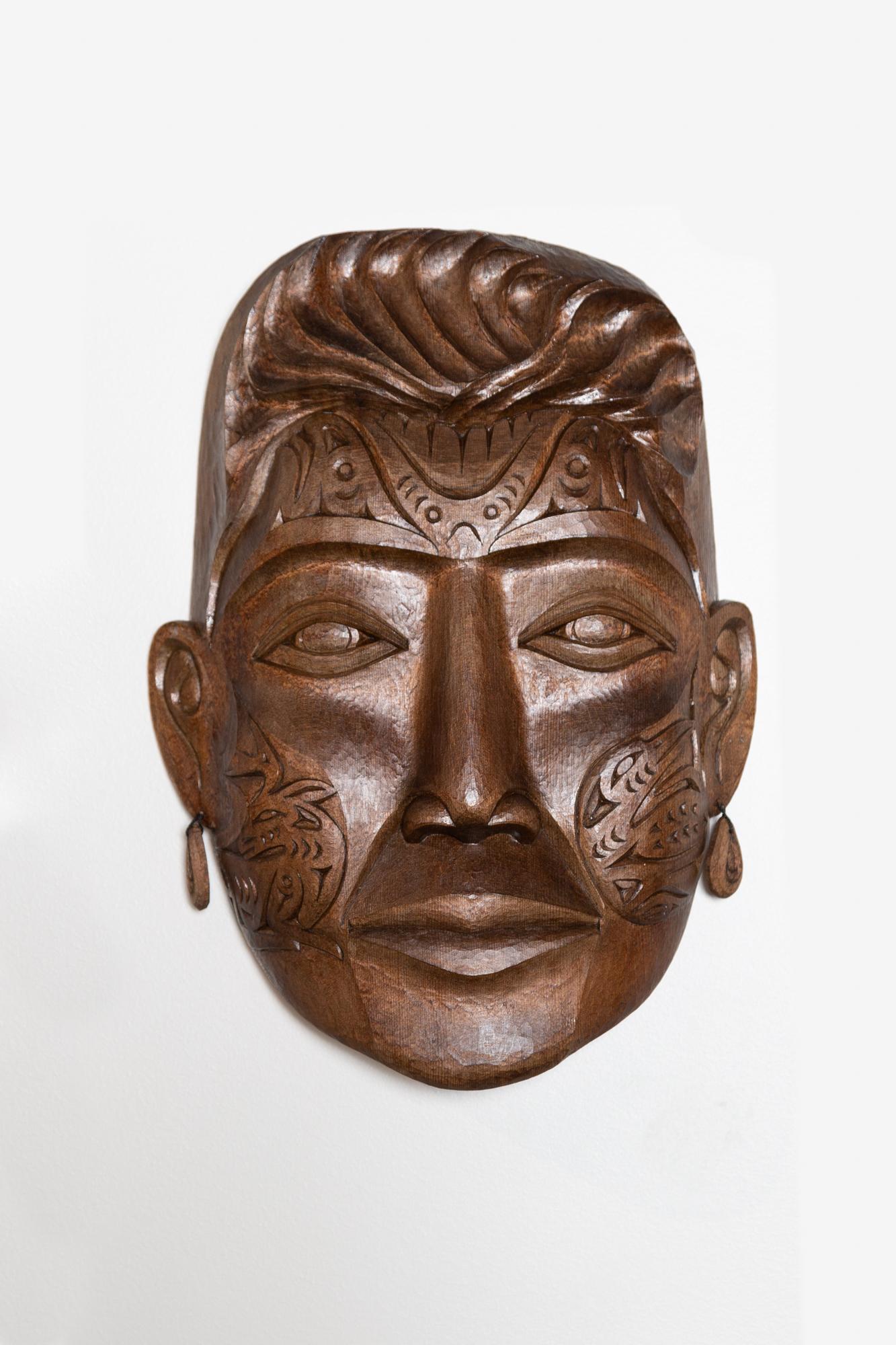 Vi Hilbert Portrait Mask