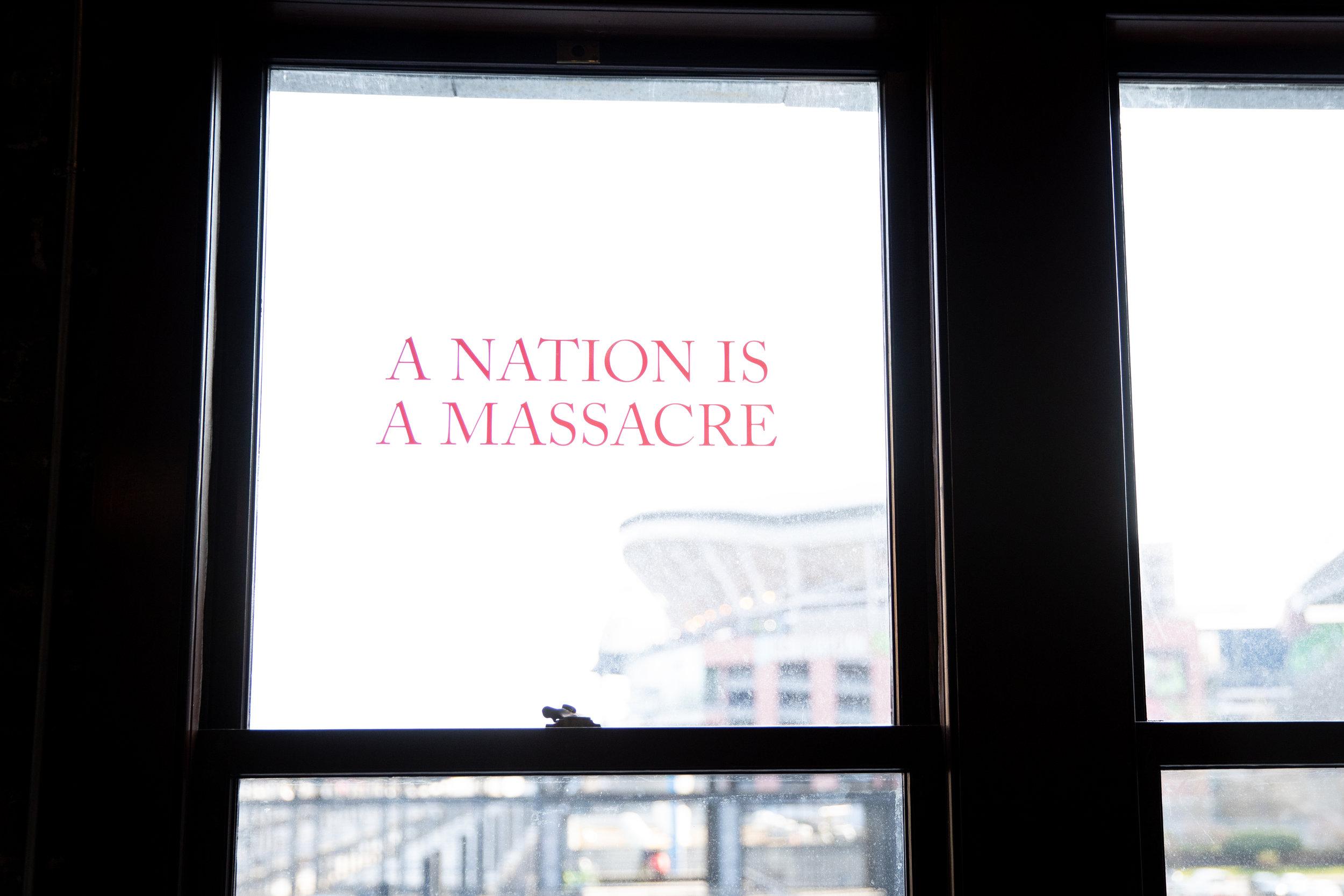 A Nation is a Massacre (alternate view)