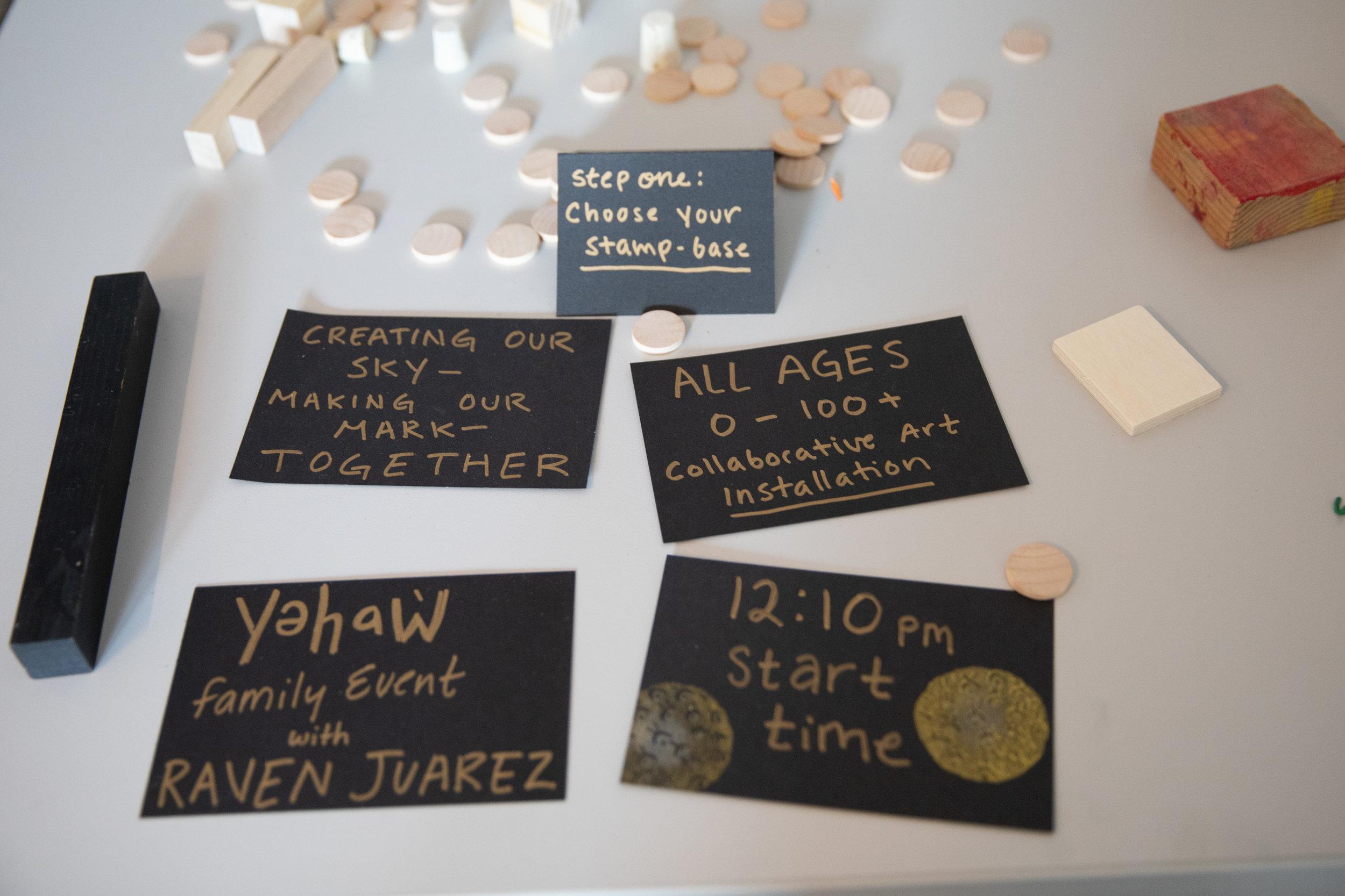 yəhaw̓ Family Event - Creating Our Sky