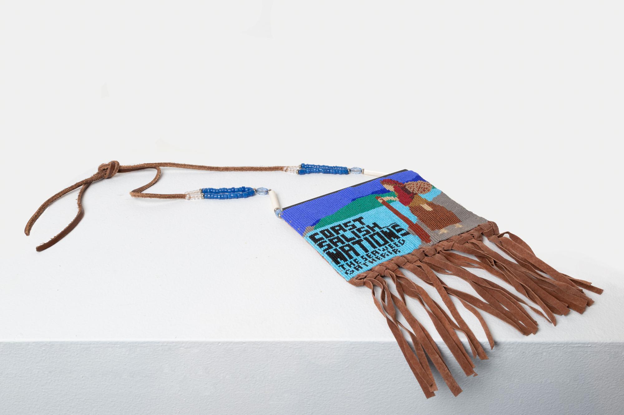 Coast Salish Peoples Bag (alternate view)