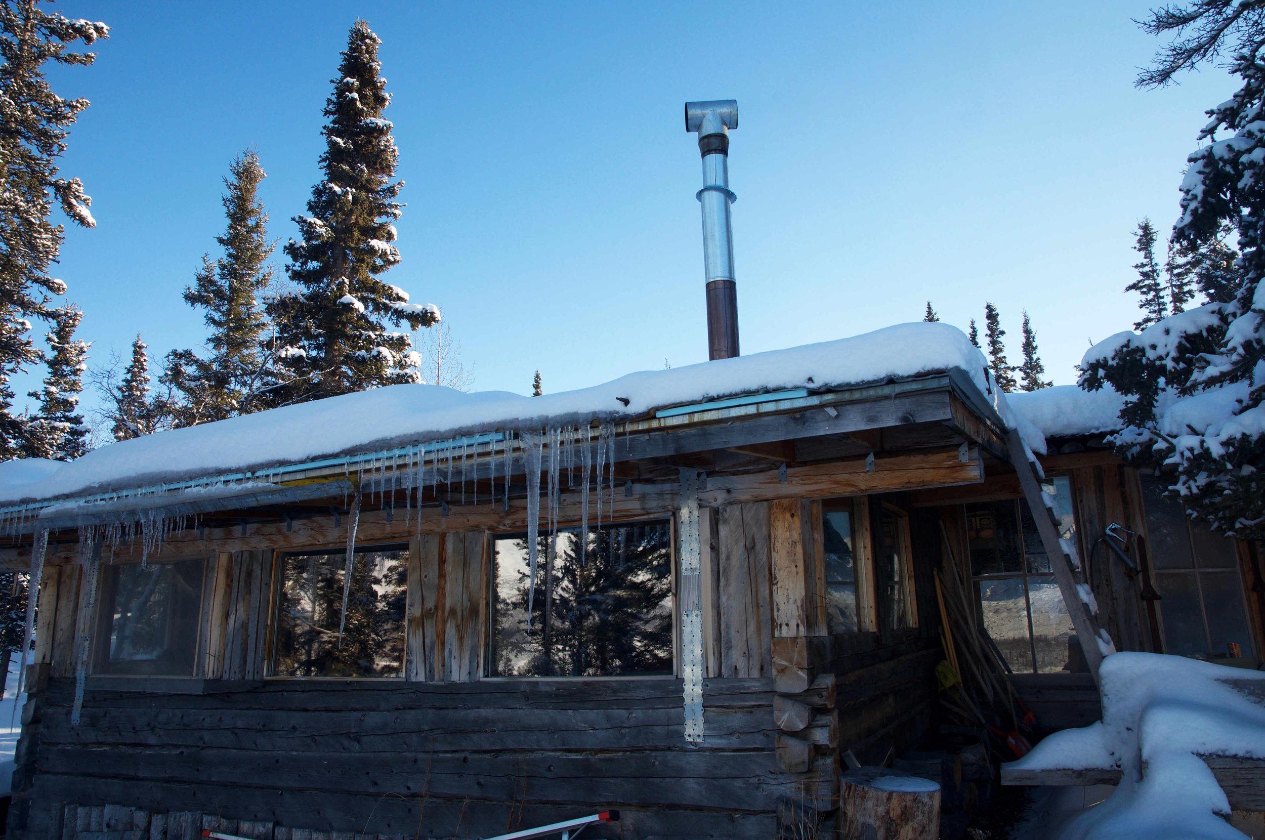 Gary Green's cabin