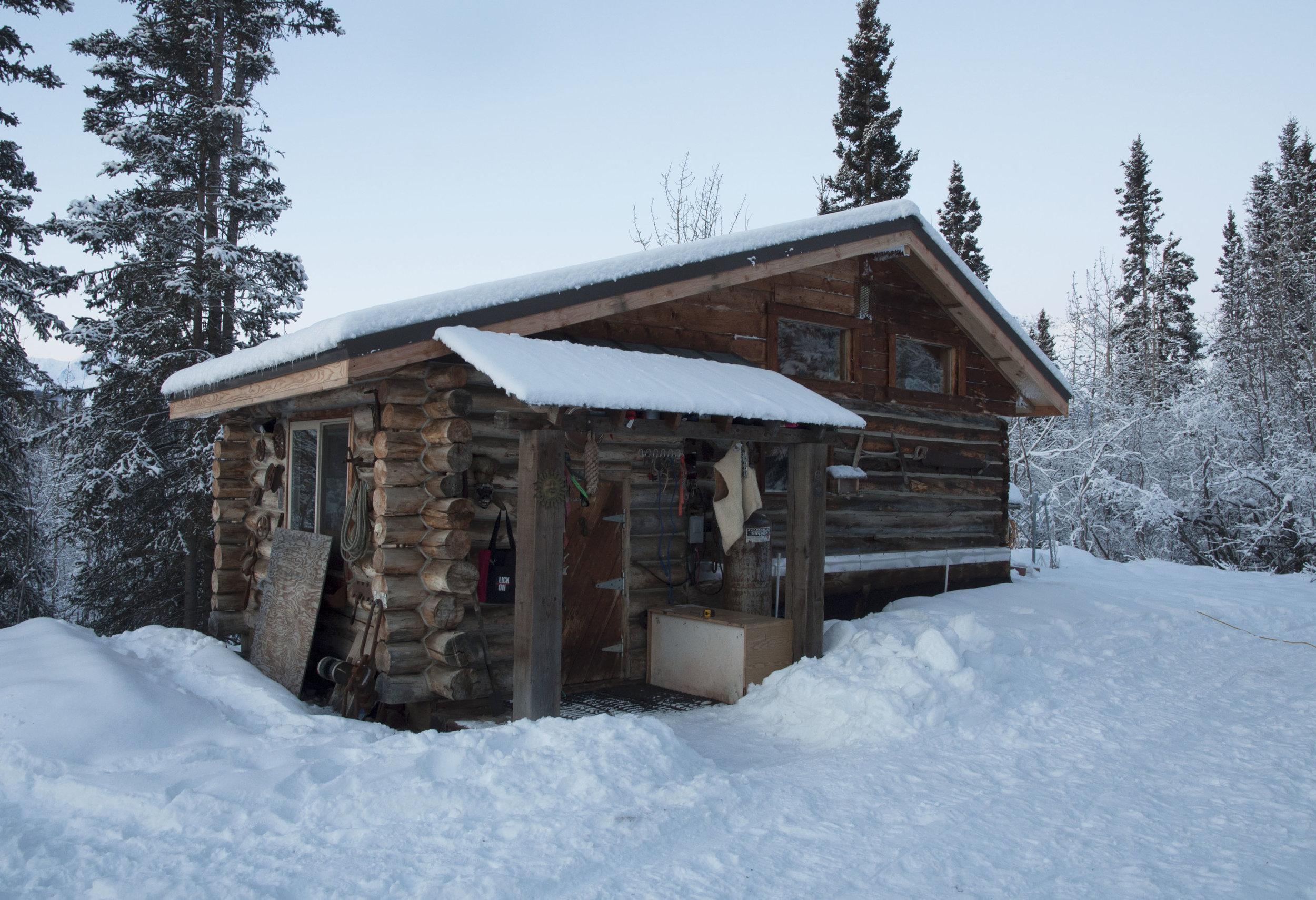 Malcolm Vance's log cabin