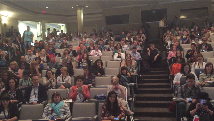 The audience at the Women's Leadership Conference