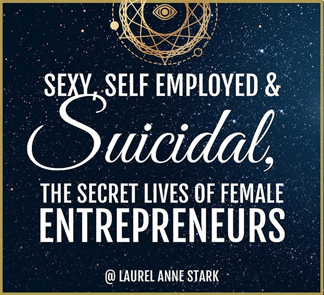 I'm writing a book. This is the title. It's coming Spring 2020.  Get on the list to be notified about news/ events / preorders / availability.  Sexyselfemployedandsuicidal.com or link in bio.  #mentalhealthawareness #entrepreneurshiprocks #femaleentrepreneur #womeninrecovery #soberandselfemployed #entrepreneursinrecovery #soberaf #suicideprevention #smallbusinessowners #mentalhealthmatters #writersofinsta #yyjbusinesswoman #selfemployedlife #suicidewatch #selfempowerment #selfcare #selflove #authorsofinsta #honestentrepreneur #realtalk #truthbomb #letstalk #recovery #thisiswhatrecoverylookslike #canadianauthor #booklaunch #yyjnews #entrepreneurship